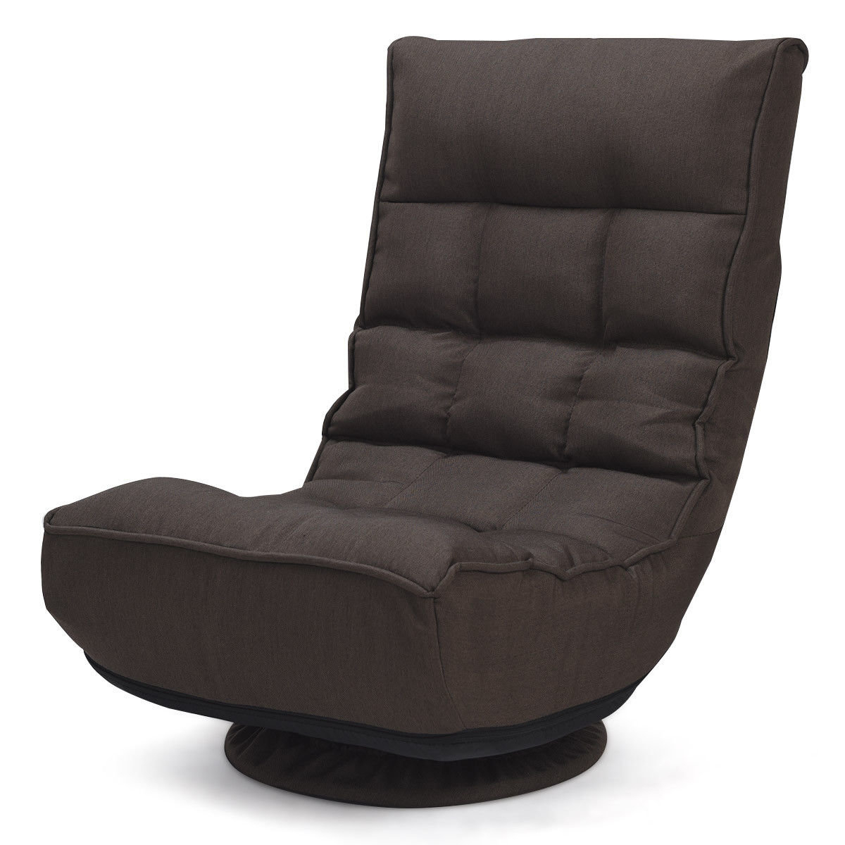 Ebern Designs Brentford Swivel Lounge Chair | Wayfair Intended For Decker Ii Fabric Swivel Rocker Recliners (Image 7 of 20)