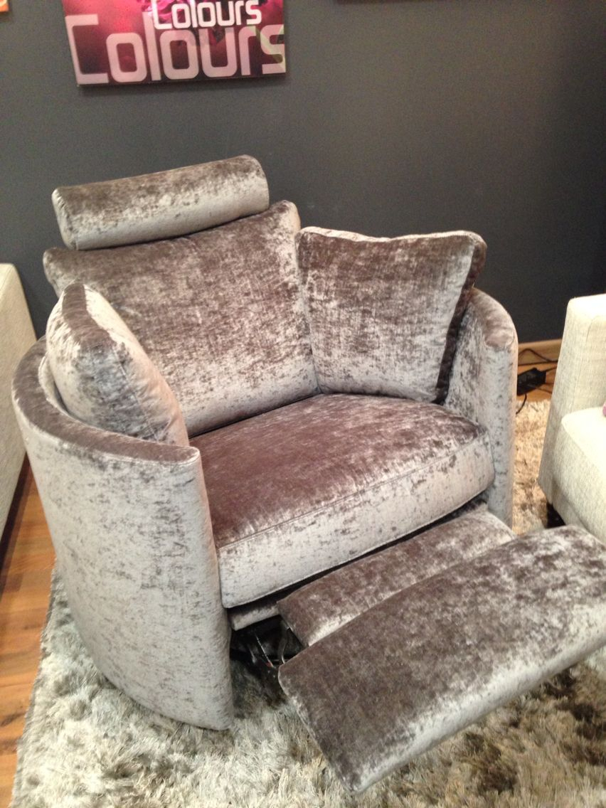 Electric, Swivel, Rocking, Recliner Chair. This Is In Modena Crushed In Alder Grande Ii Swivel Chairs (Photo 14 of 20)