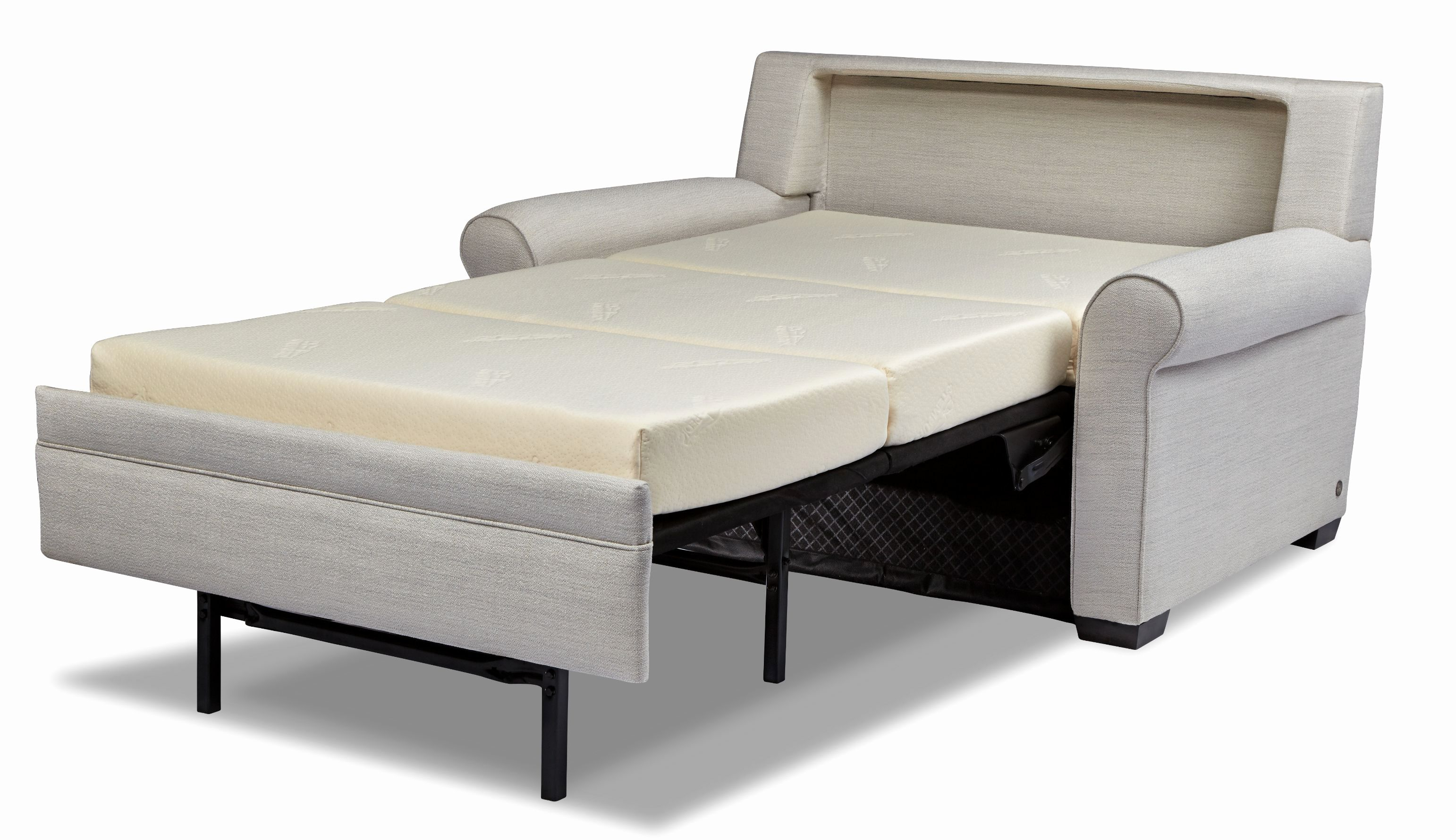 Elegant Comfortable Sleeper Sofas Pics Comfortable Sleeper Sofas Within Gina Grey Leather Sofa Chairs (Photo 13 of 20)