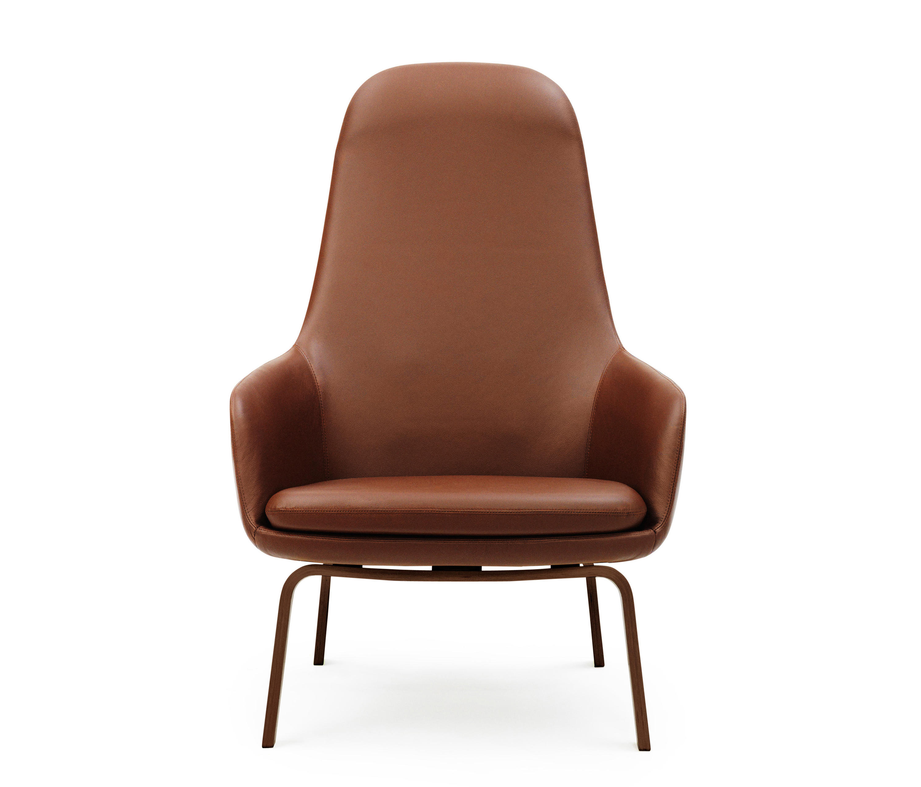 Era Lounge Chair High – Armchairs From Normann Copenhagen | Architonic With Regard To Gina Blue Leather Sofa Chairs (Photo 15 of 20)