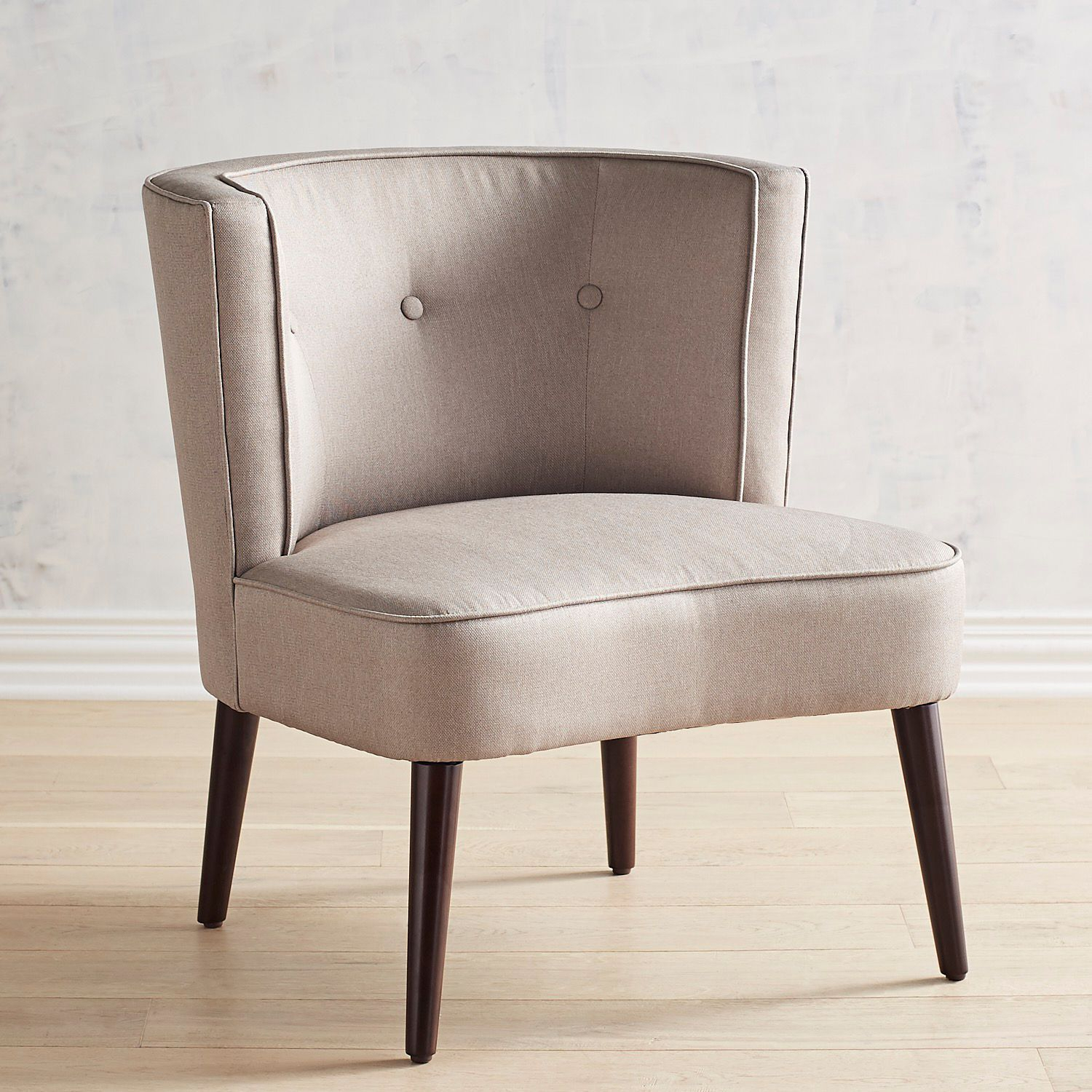 Evie Gray Chair In 2018 | Beachy Keen | Chair, Living Room Chairs Regarding Devon Ii Swivel Accent Chairs (View 14 of 20)