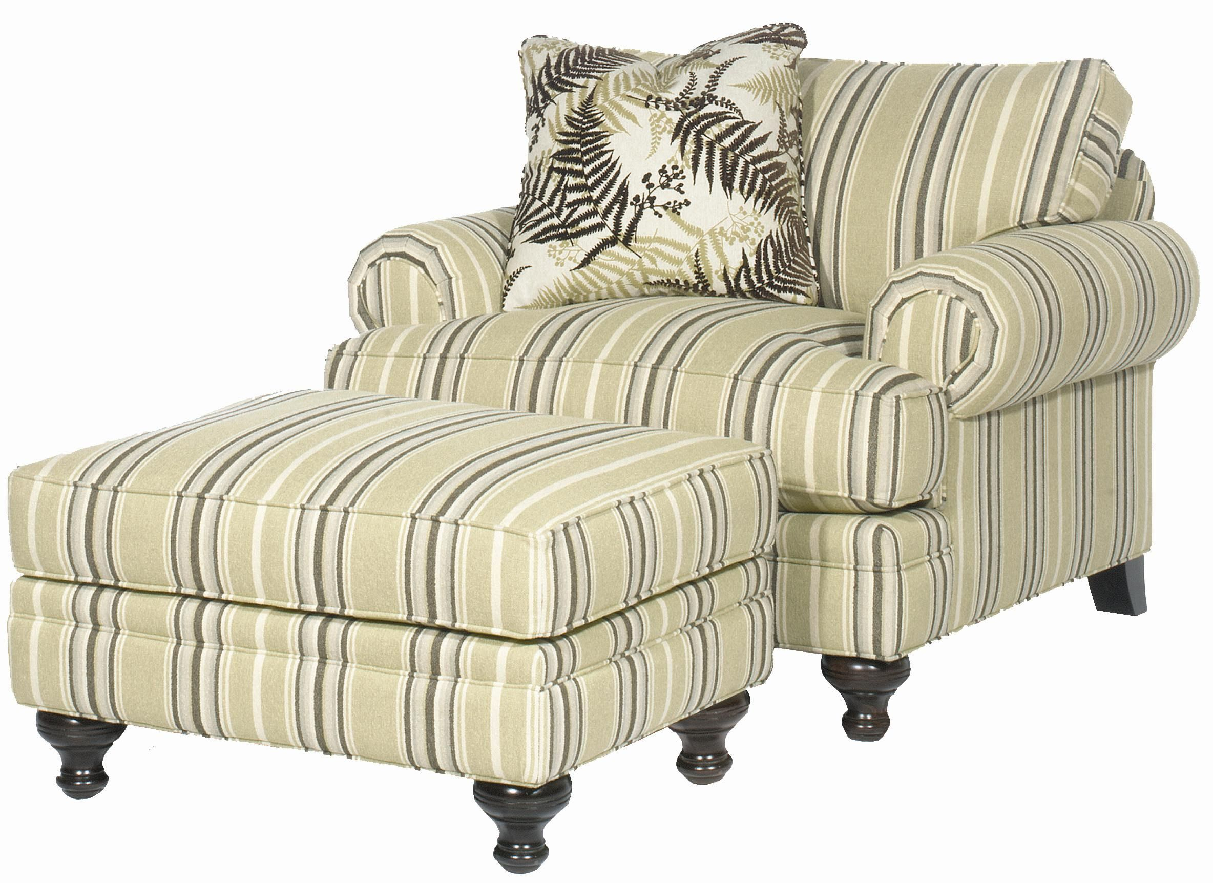 Family Room: Paula Deen Chair And A Half With Ottoman That Could For Bailey Linen Flare Arm Wing Skirted Swivel Gliders (Photo 11 of 20)