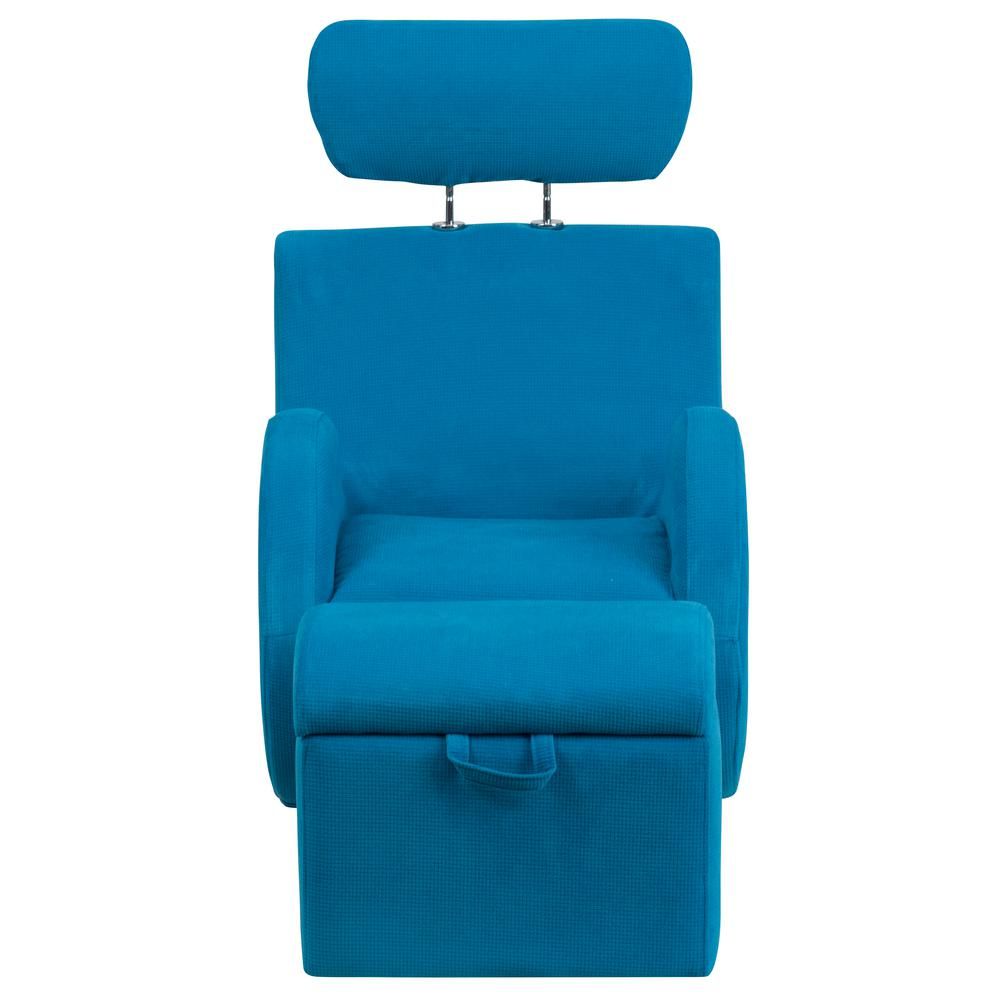 Flash Furniture Hercules Series Turquoise Blue Fabric Rocking Chair Inside Hercules Grey Swivel Glider Recliners (Photo 15 of 20)