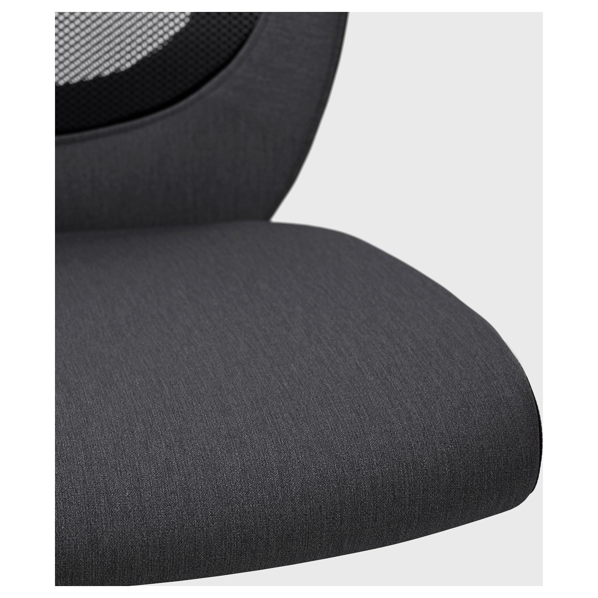 Flintan Swivel Chair Vissle Grey – Ikea Within Grey Swivel Chairs (Image 6 of 20)