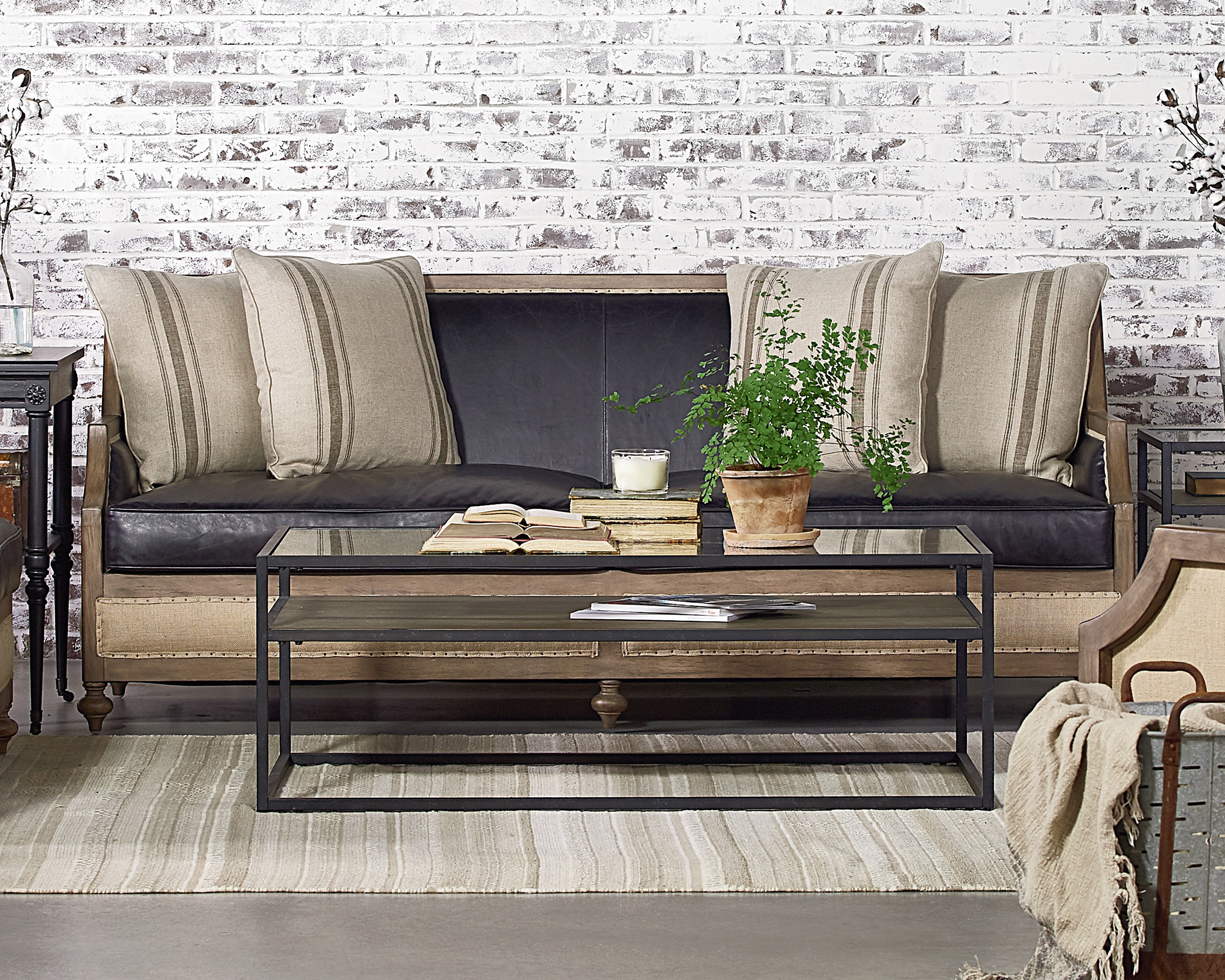 Foundation Sofa – Magnolia Home In Magnolia Home Foundation Leather Sofa Chairs (Image 10 of 20)