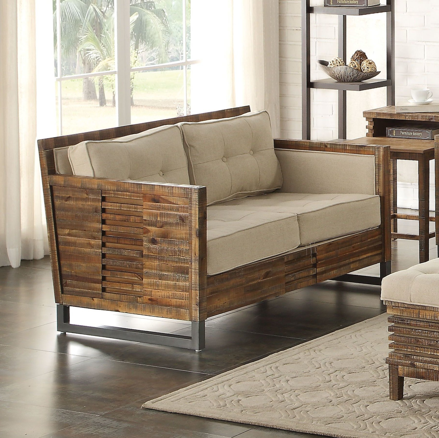 Foundry Select Rory Loveseat | Wayfair Inside Rory Sofa Chairs (Image 5 of 20)