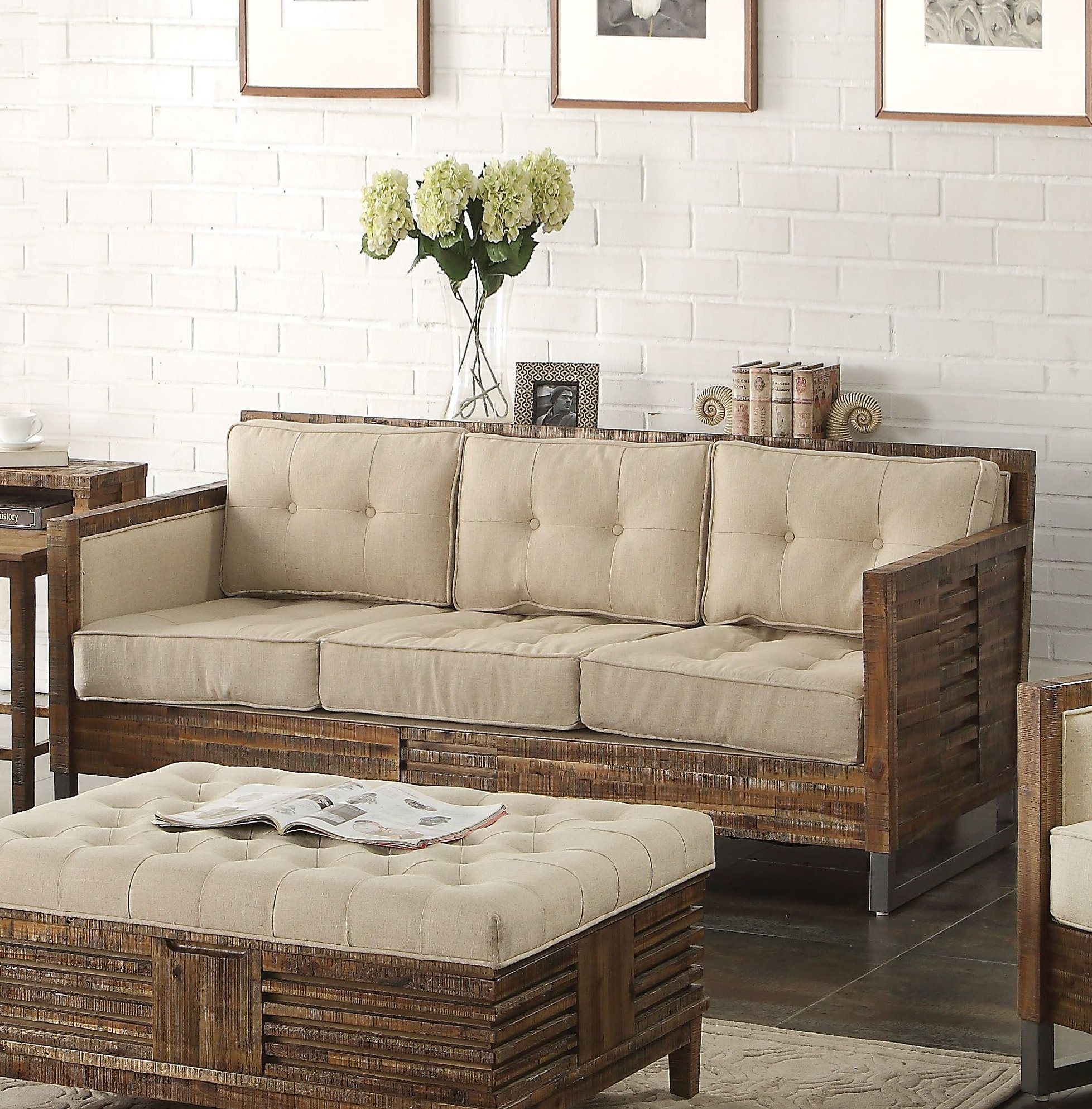Foundry Select Rory Sofa | Wayfair For Rory Sofa Chairs (Image 6 of 20)