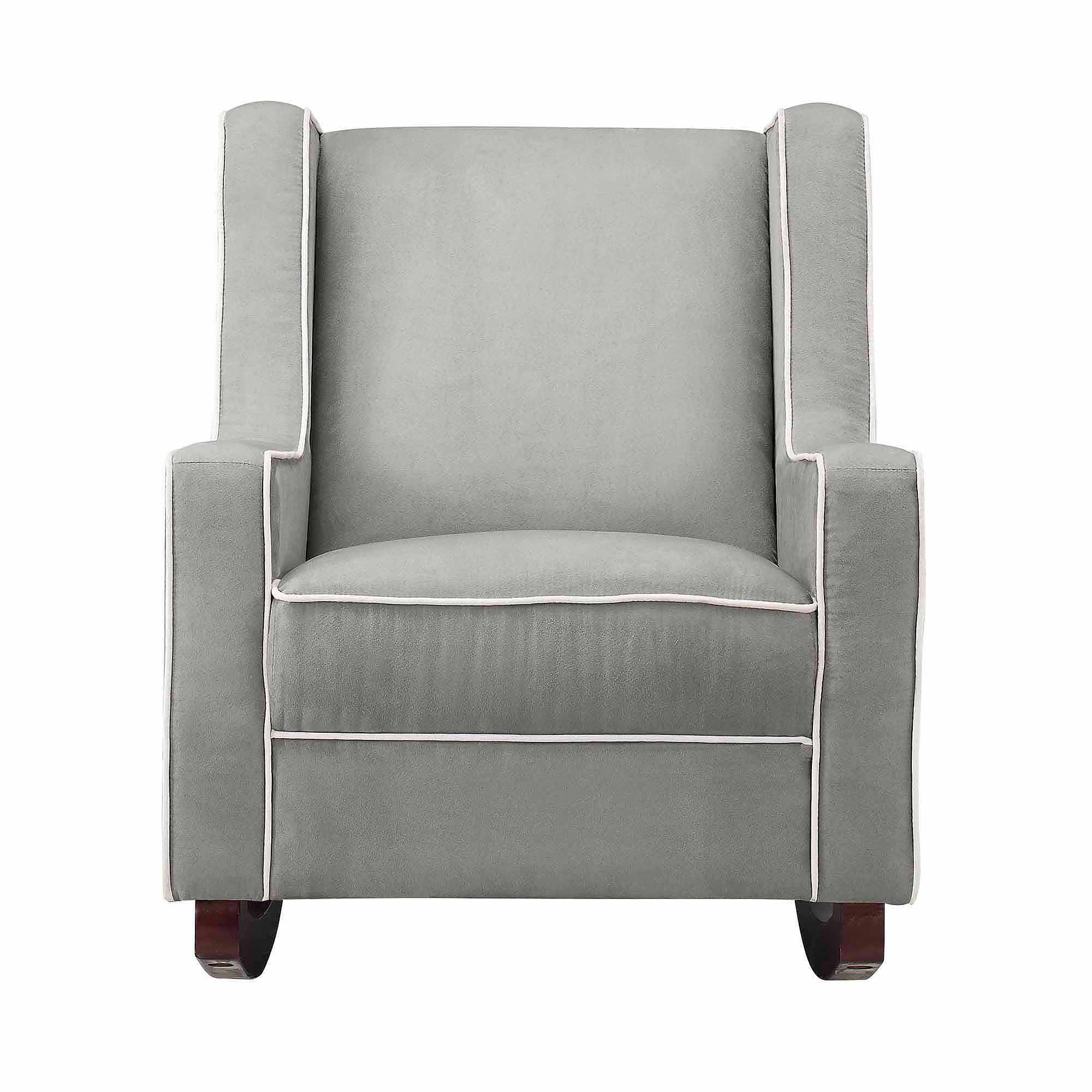 Furniture: Magnificent Walmart Glider Rocker For Fabulous Home Throughout Abbey Swivel Glider Recliners (Photo 3 of 20)