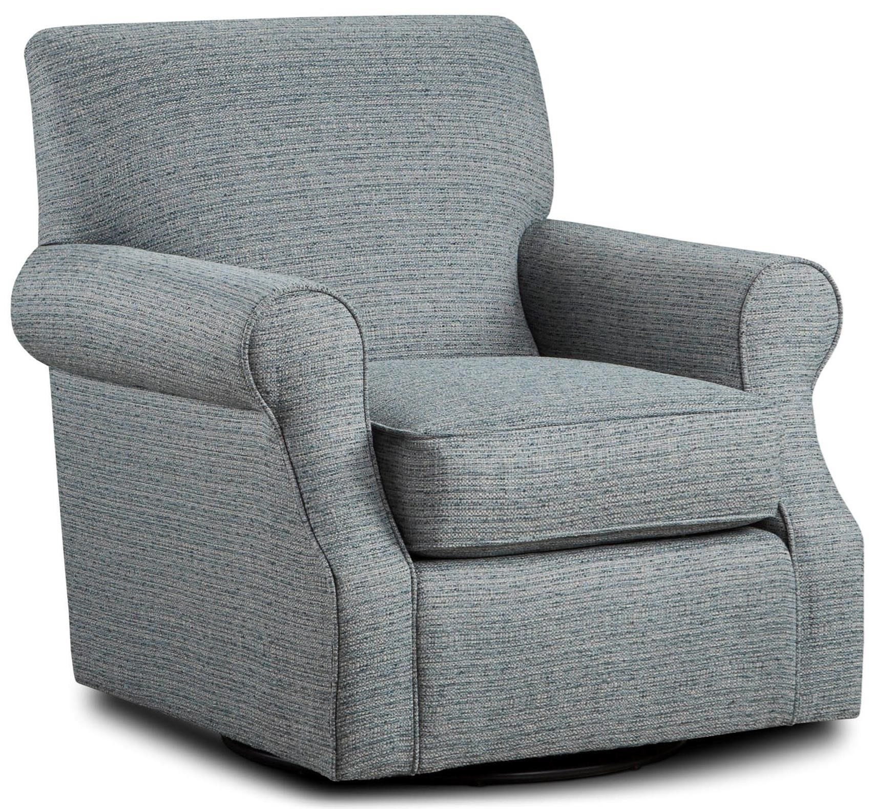 Fusion Furniture 602 Swivel Accent Chair | Lindy's Furniture Company Regarding Umber Grey Swivel Accent Chairs (Image 11 of 20)