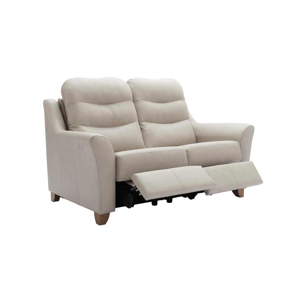 G Plan Tate Leather 2 Seater Recliner – Smiths The Rink Harrogate Within Tate Ii Sofa Chairs (Image 8 of 20)