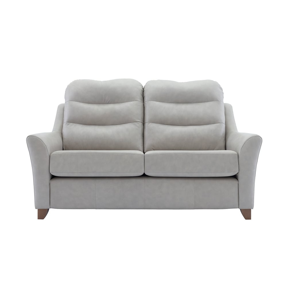 G Plan Tate Leather 2 Seater Sofa – Smiths The Rink Harrogate In Tate Ii Sofa Chairs (Image 9 of 20)