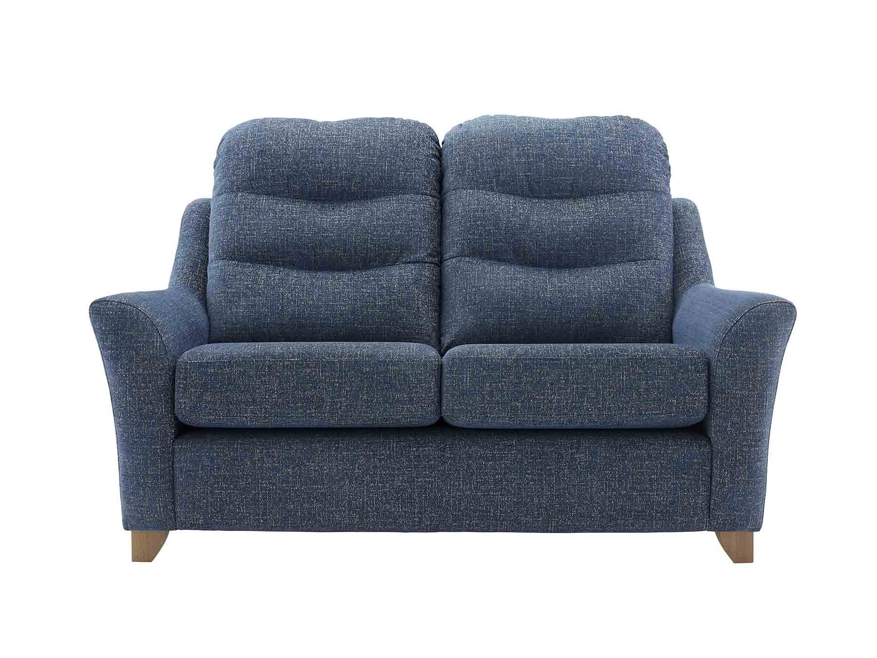 G Plan Tate Leather 2 Seater Sofa | Tr Hayes – Furniture Store, Bath For Tate Ii Sofa Chairs (Photo 1 of 20)