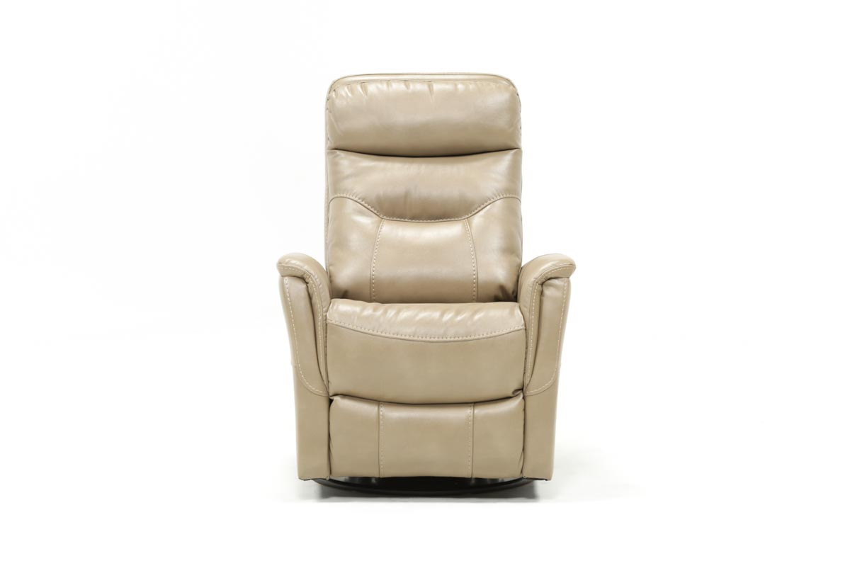Gannon Linen Power Swivel Recliner W/built In Battery Intended For Gannon Linen Power Swivel Recliners (Image 11 of 20)
