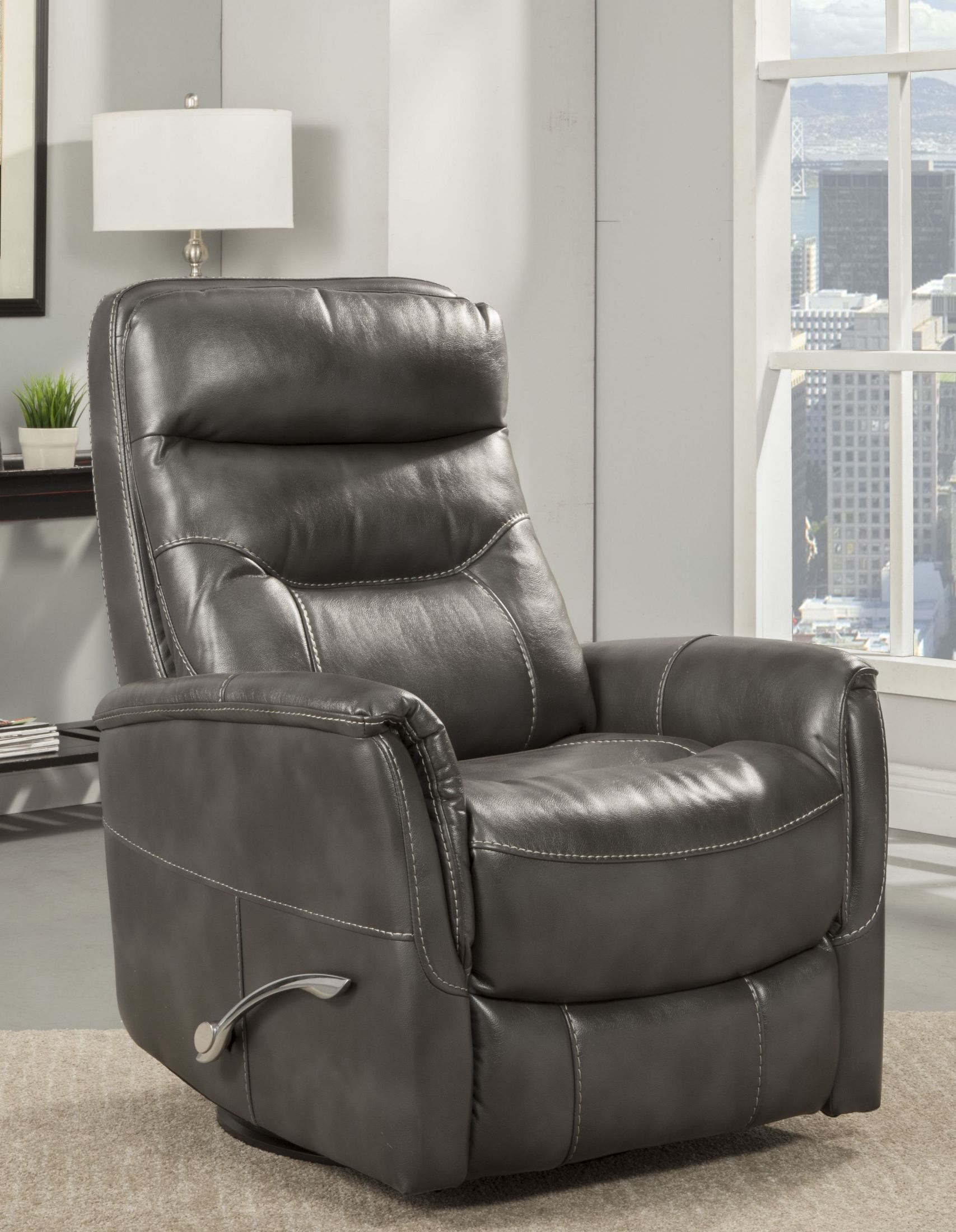 Gemini Flint Swivel Glider Recliner From Parker Living | Coleman Pertaining To Hercules Oyster Swivel Glider Recliners (Image 4 of 20)