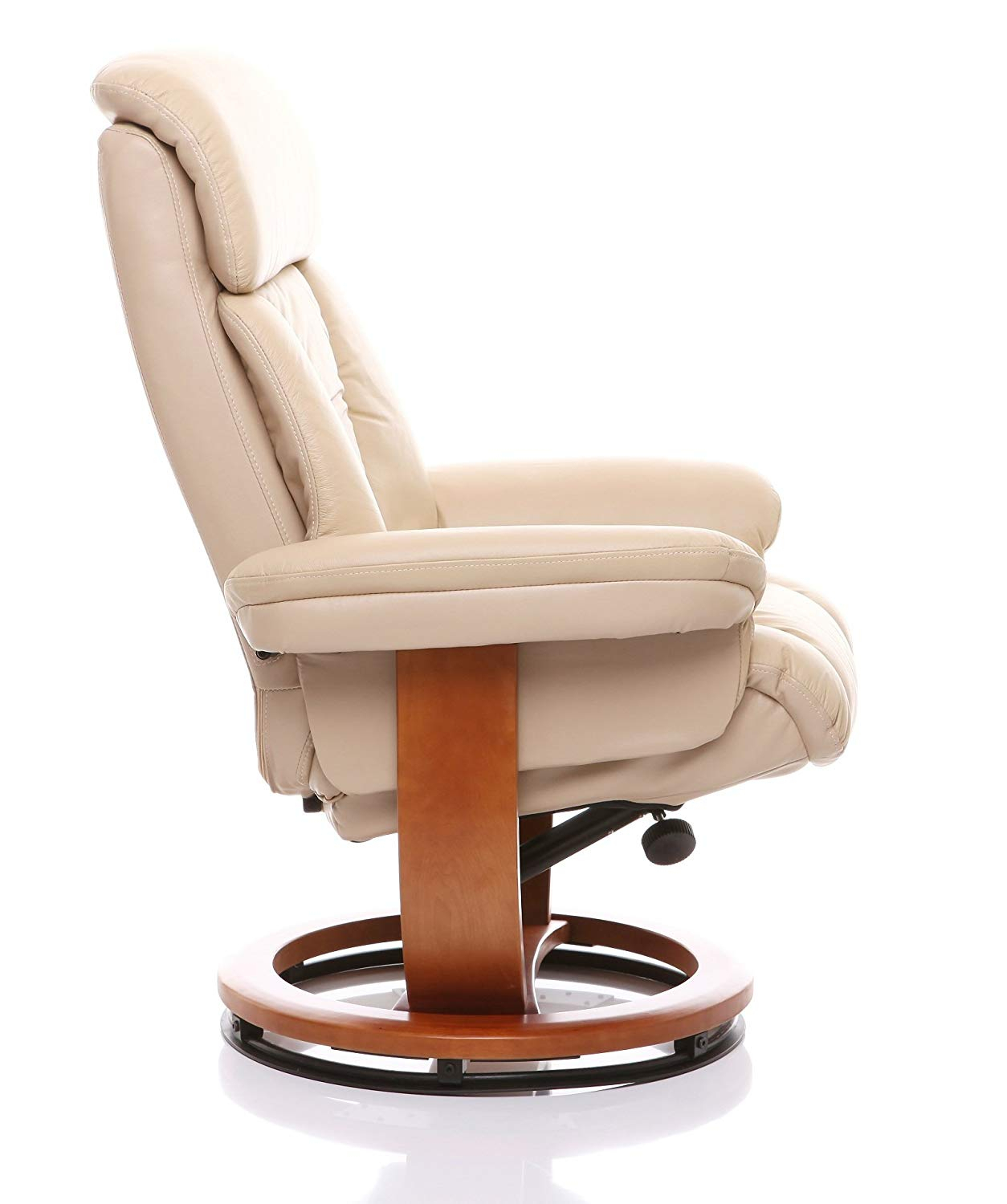 Gfa The Saigon Genuine Leather Recliner Swivel Chair Matching With Regard To Amala Bone Leather Reclining Swivel Chairs (Photo 20 of 20)