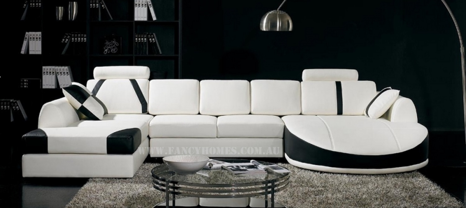 Gina | Fancy Homes Inside Gina Grey Leather Sofa Chairs (Image 8 of 20)