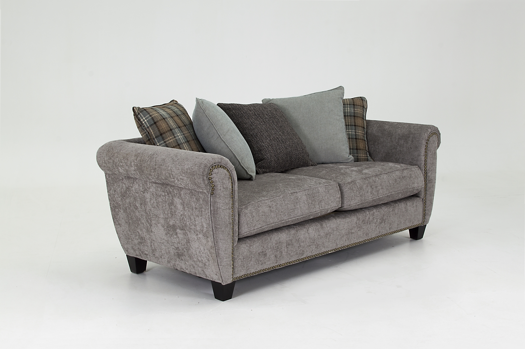 Grace 3 Seater Fixed – Ash – Larry O'keeffe Furniture With Grace Sofa Chairs (Photo 20 of 20)
