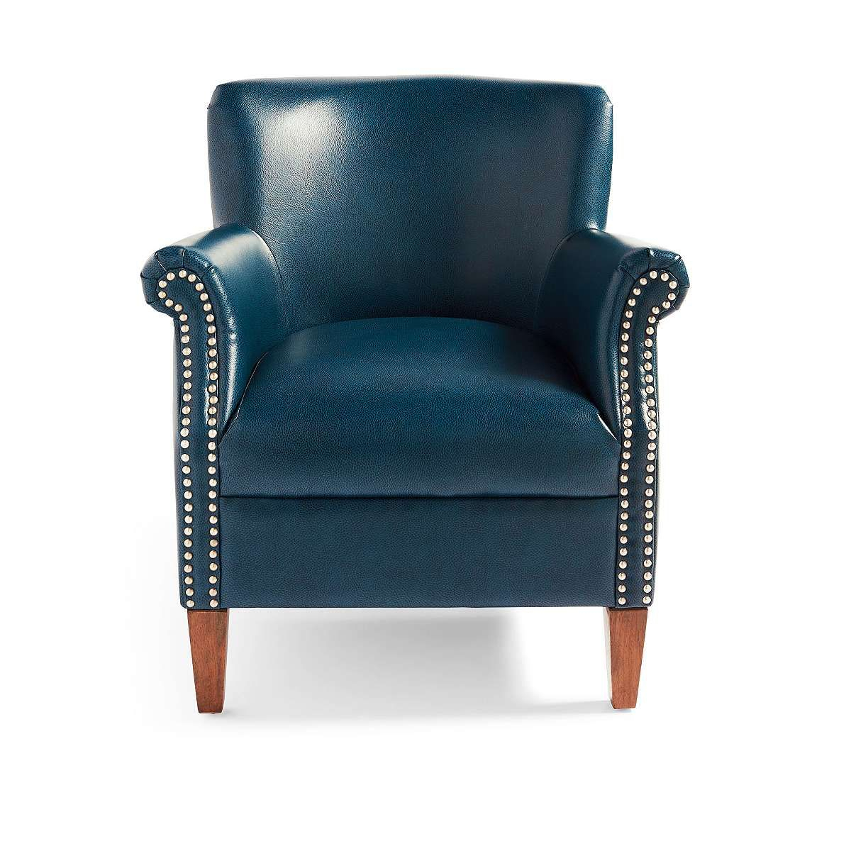 Grandin Road; Caspian Blue $399. | Meadows/waiting Room | Pinterest Regarding Grandin Leather Sofa Chairs (Photo 4 of 20)