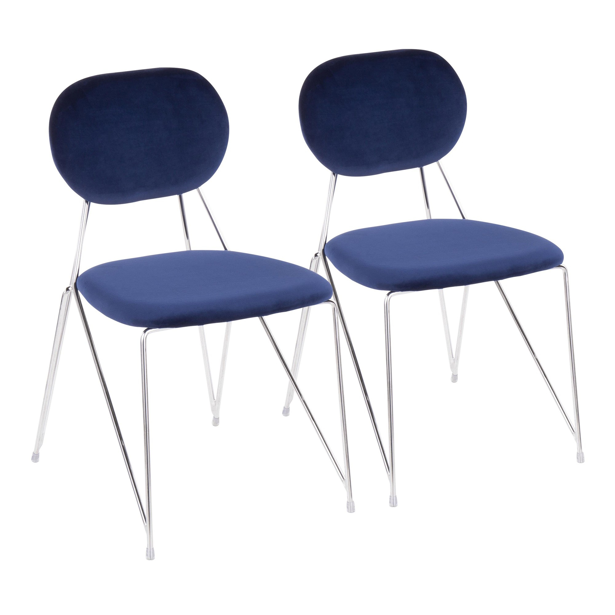 Gwen Chair – Set Of 2 – Lumisource – Stylish Decor At Affordable Prices Within Gwen Sofa Chairs (Image 3 of 20)