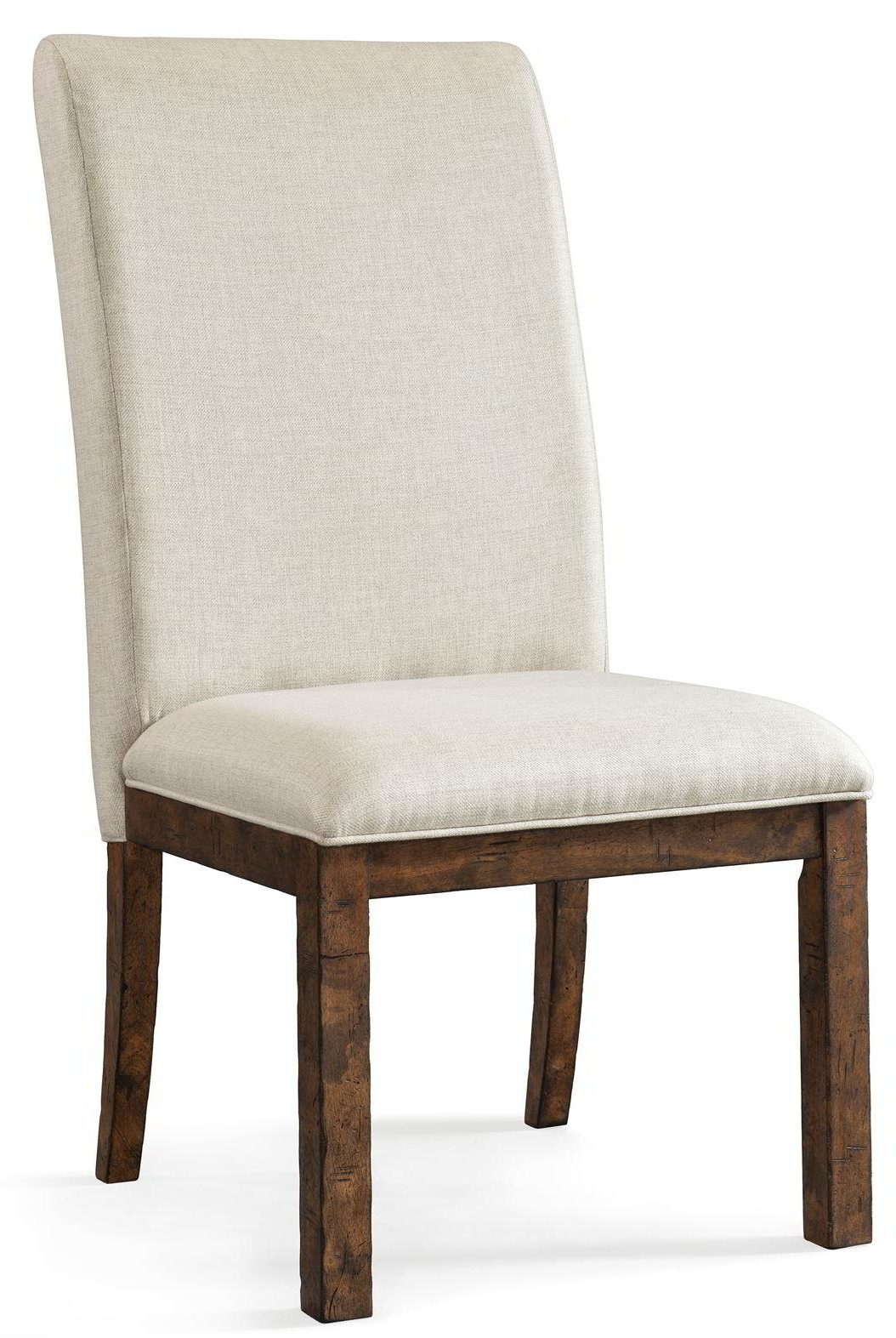 Gwen Upholstered Side Chair, Simple Elegance – Frontroom Furnishings Intended For Gwen Sofa Chairs (Photo 11 of 20)