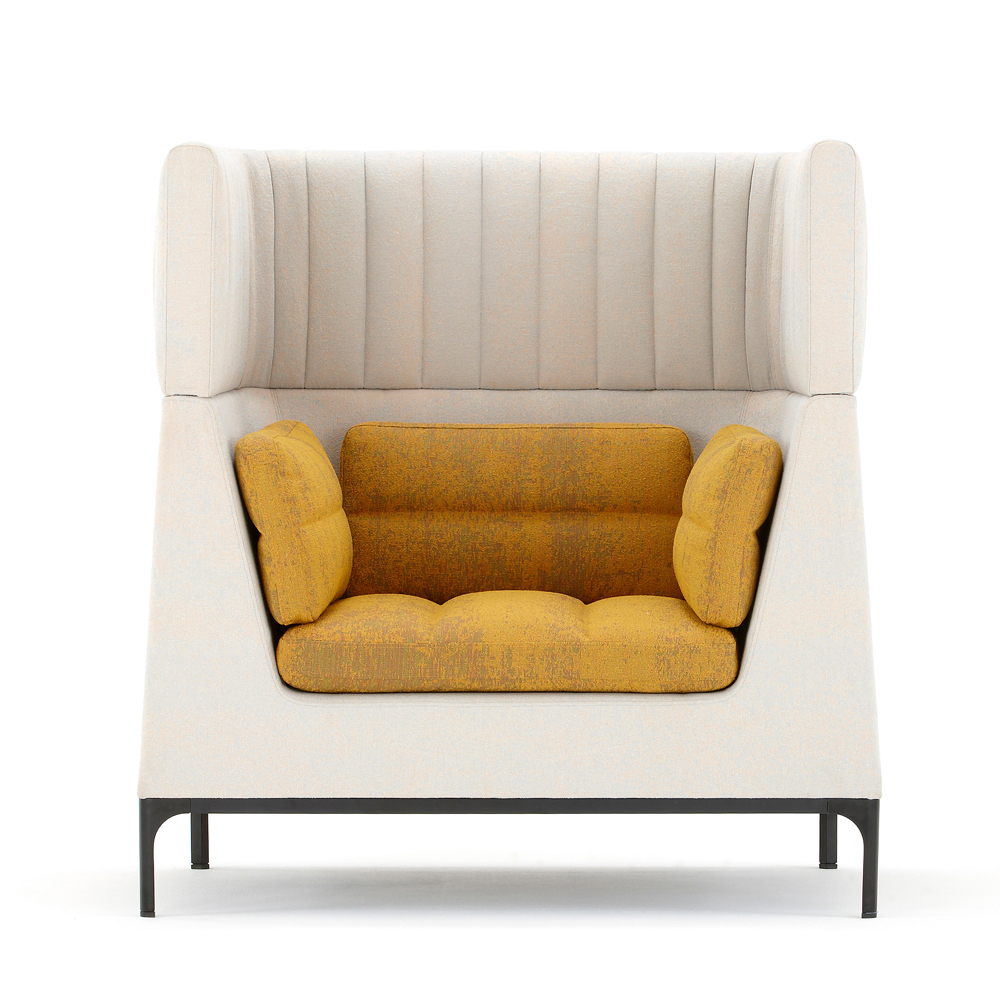 Ha102Hr Haven Single Seat Armchair With Headrest – Dbi Furniture With Haven Sofa Chairs (Image 5 of 20)