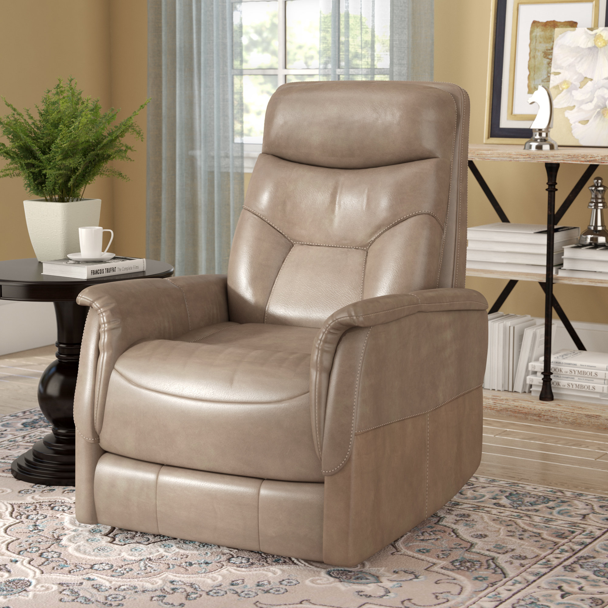 Haliburton Power Glider Swivel Recliner Regarding Gannon Linen Power Swivel Recliners (Image 13 of 20)