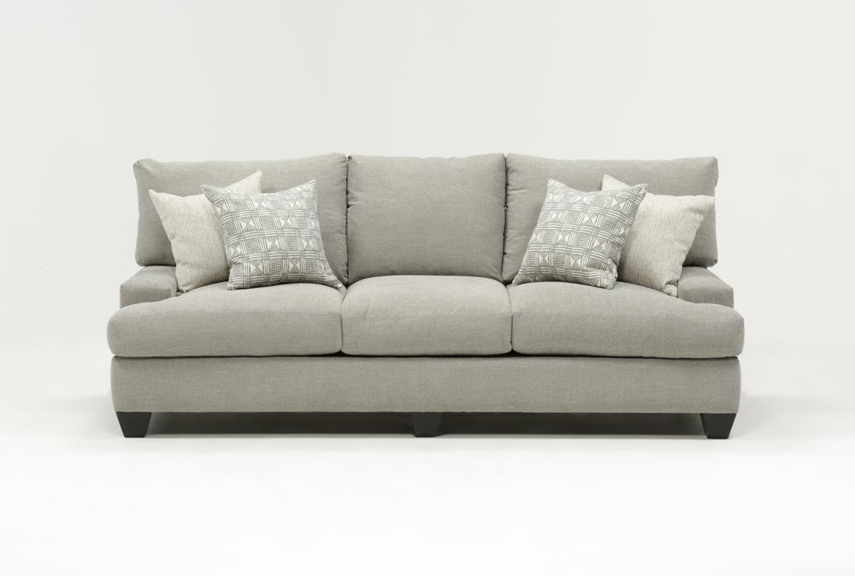 Harper Down Sofa | Living Spaces Inside Cohen Foam Oversized Sofa Chairs (View 5 of 20)