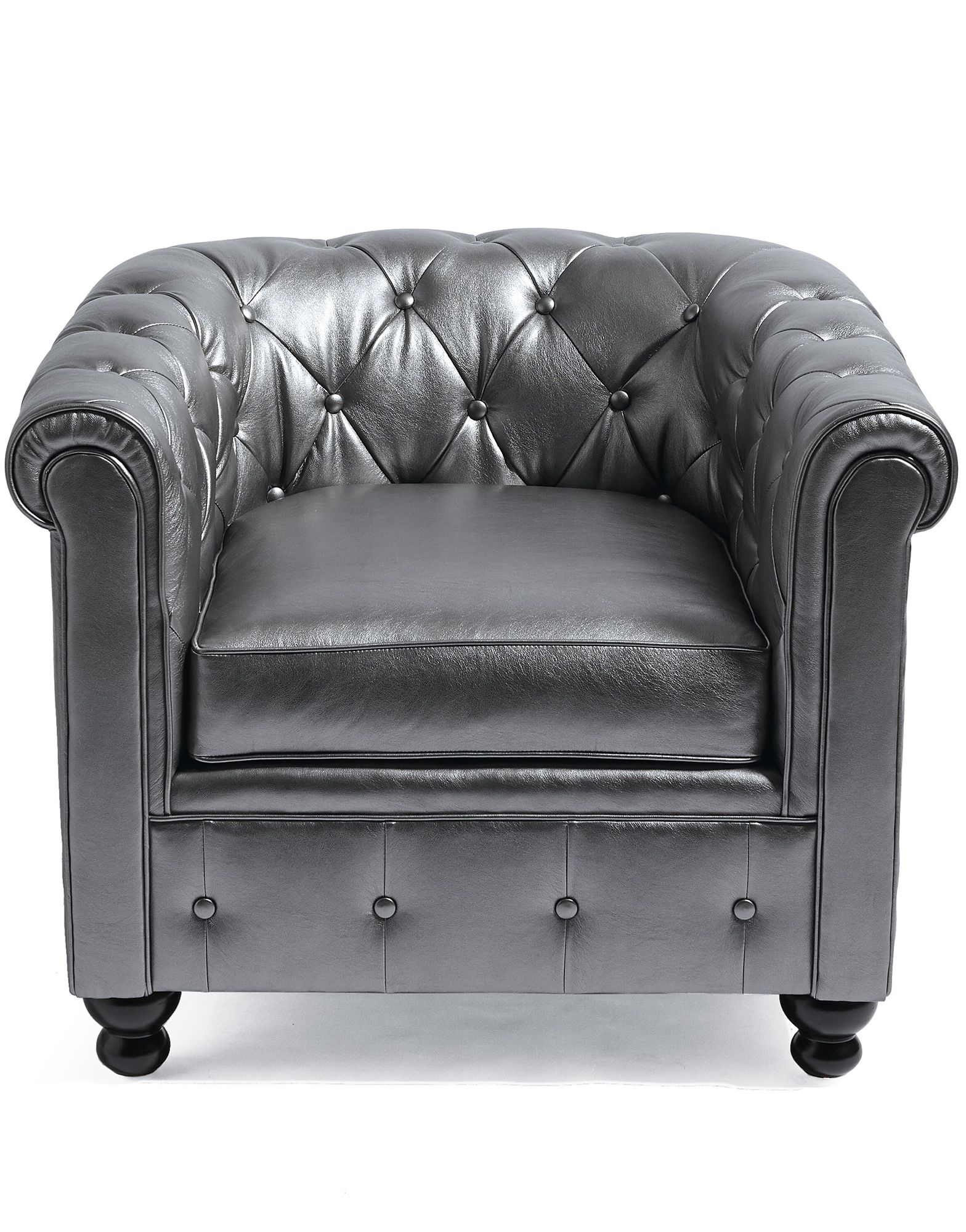 Harrison Chair In Pewter! | Interior Design | Pinterest | Pewter In Grandin Leather Sofa Chairs (Image 13 of 20)