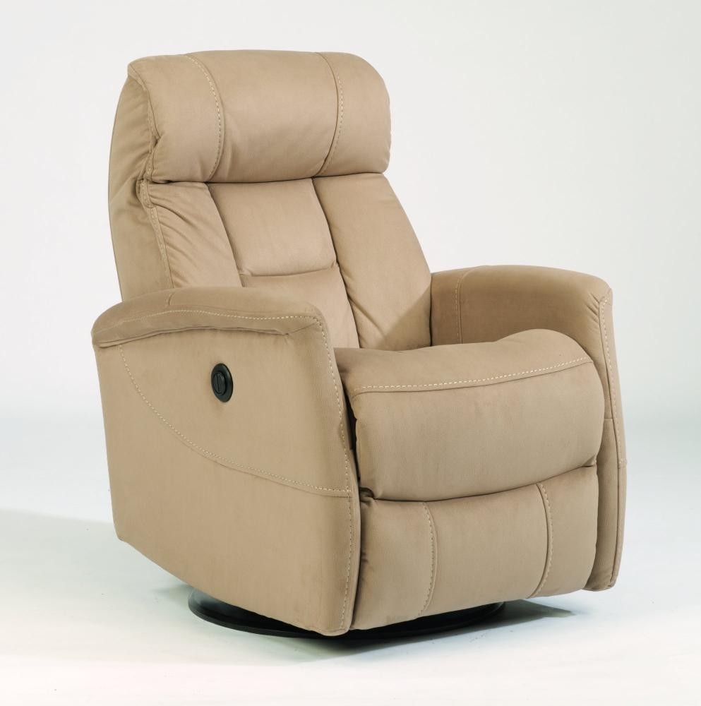 Hart Fabric King Power Swivel Gliding Recliner | 139053Pk | Power Pertaining To Hercules Chocolate Swivel Glider Recliners (View 16 of 20)