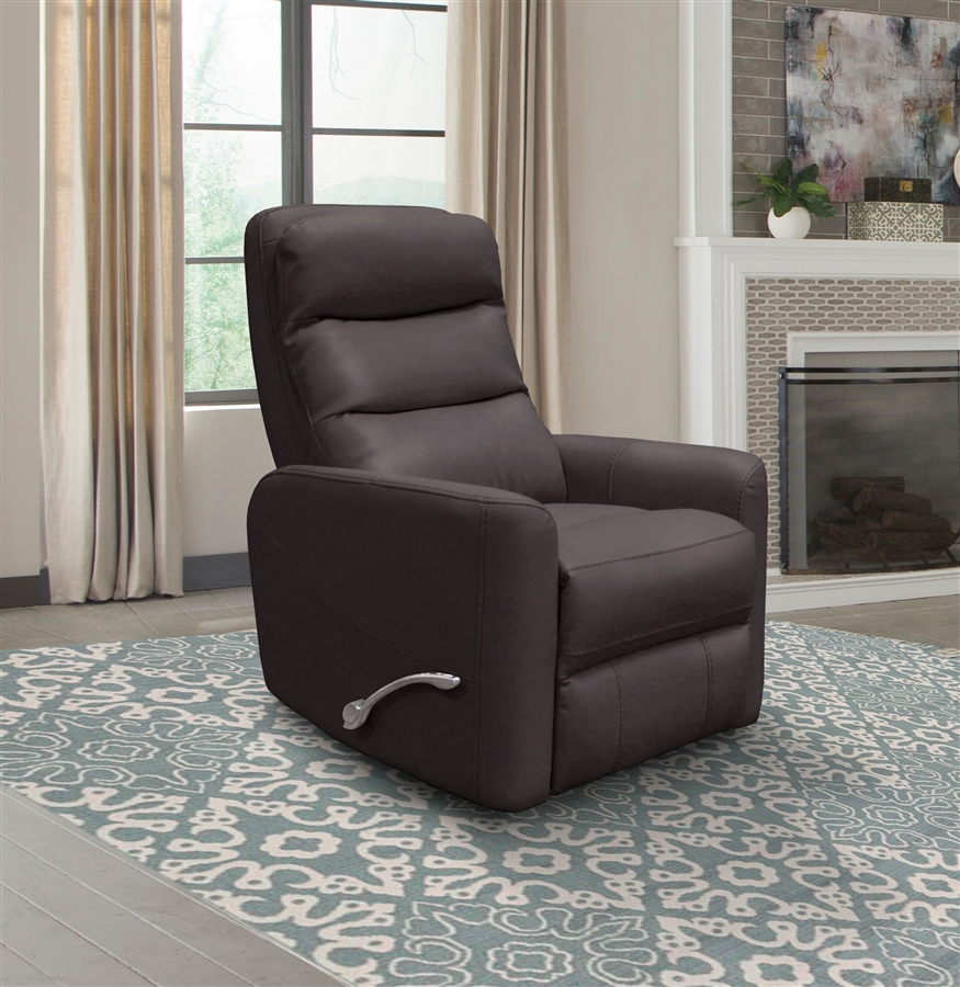 Hercules Glider Swivel Recliner With Articulating Headrest In In Hercules Chocolate Swivel Glider Recliners (View 2 of 20)