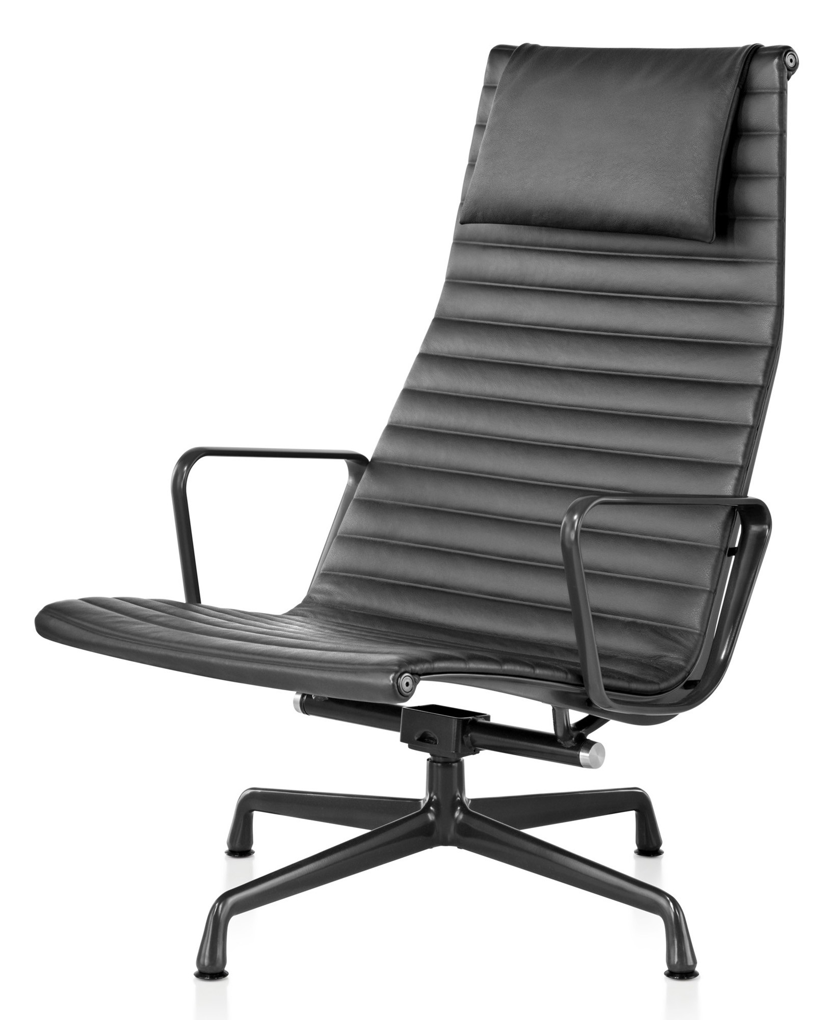 Herman Miller Eames® Aluminum Group – Lounge Chair – Gr Shop Canada Intended For Chadwick Gunmetal Swivel Chairs (Image 5 of 20)