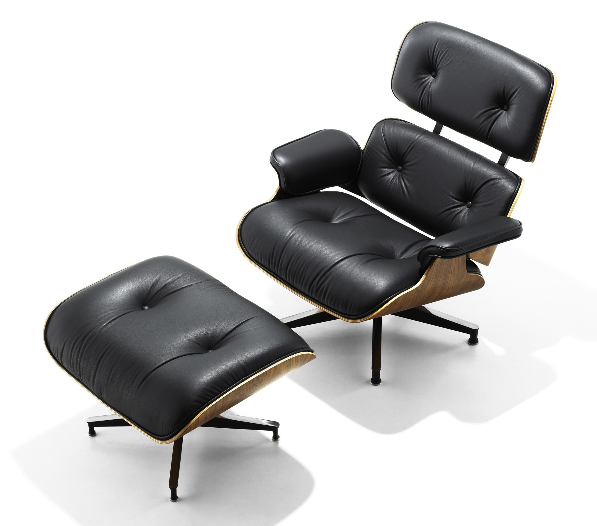 Herman Miller Eames® Lounge Chair And Ottoman – Gr Shop Canada Pertaining To Chadwick Gunmetal Swivel Chairs (Image 7 of 20)