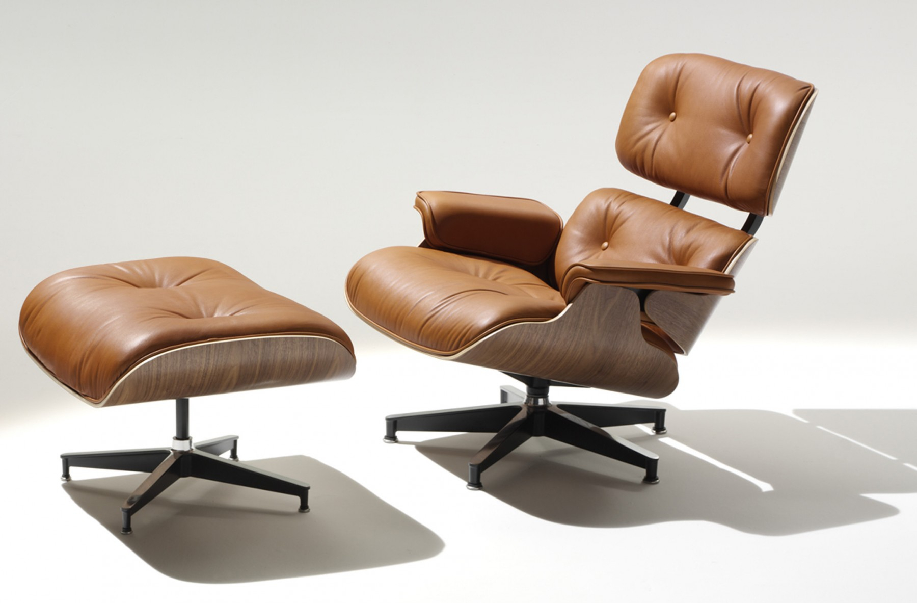 Herman Miller Eames® Lounge Chair And Ottoman – Gr Shop Canada With Chadwick Gunmetal Swivel Chairs (Image 8 of 20)