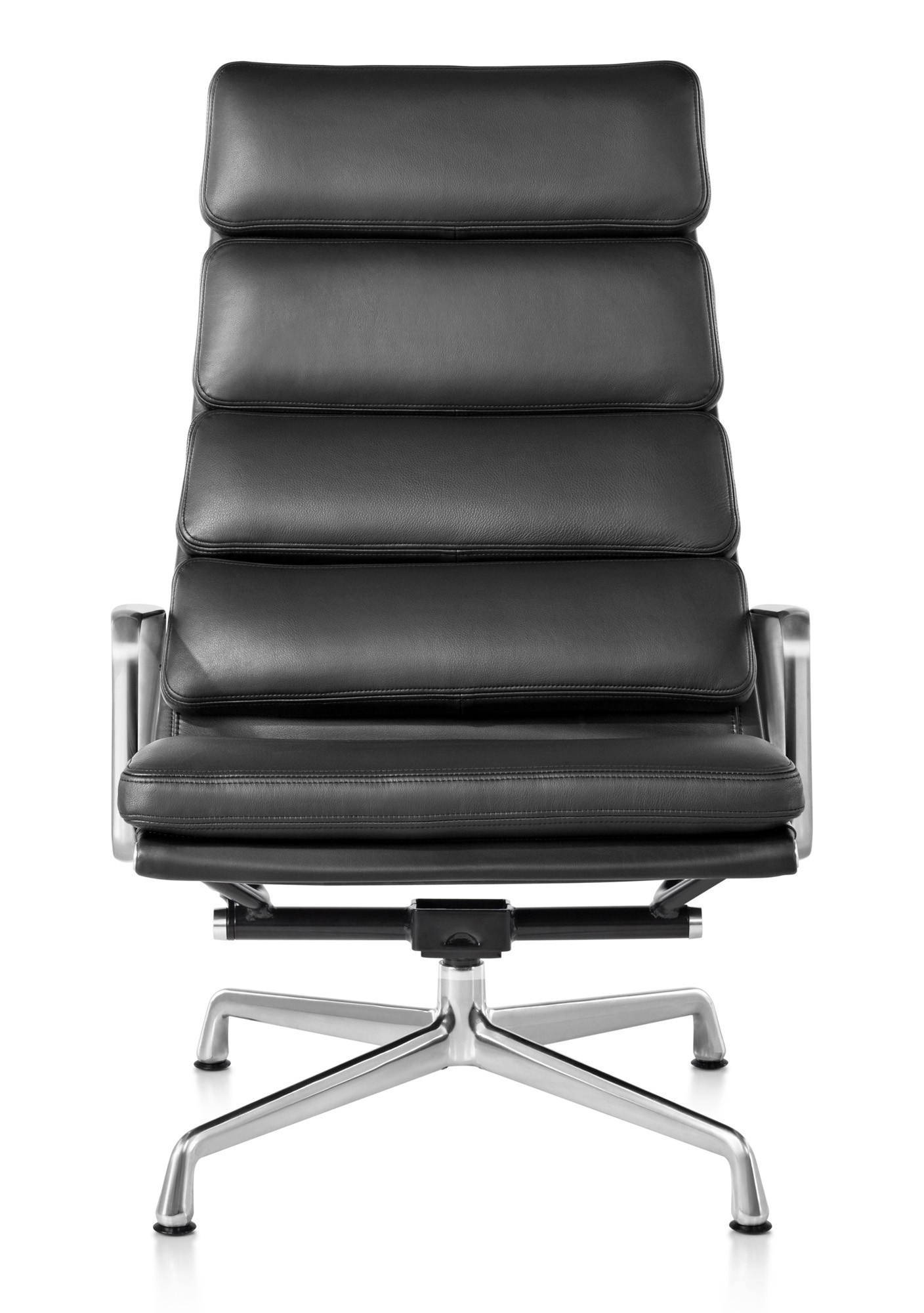 Herman Miller Eames® Soft Pad Chair – Lounge Chair – Gr Shop Canada With Chadwick Gunmetal Swivel Chairs (Image 9 of 20)