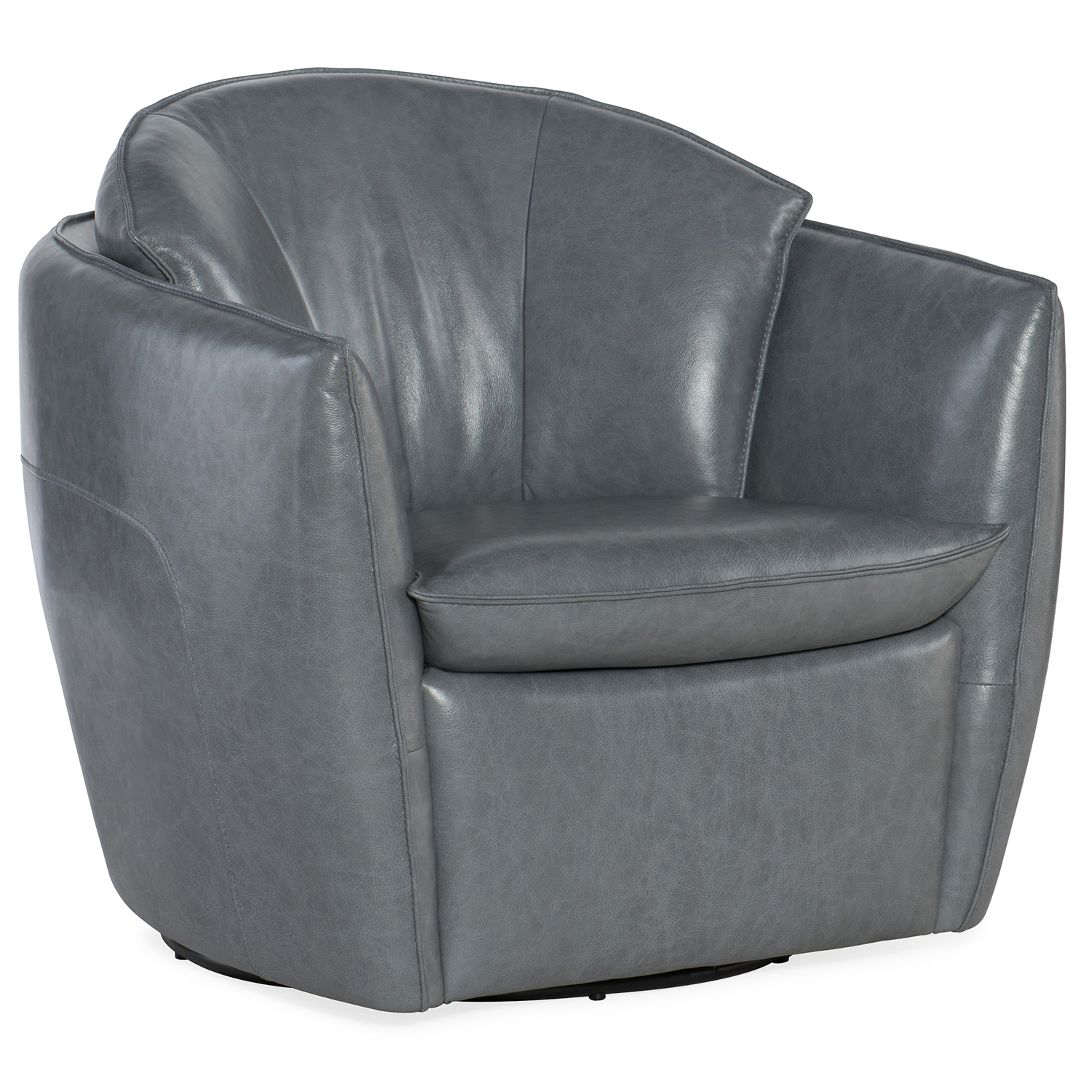 Hooker Furniture Vogue Vintage Dark Gray Swivel Chair Cc213 Sw 096 Inside Dark Grey Swivel Chairs (Photo 7 of 20)