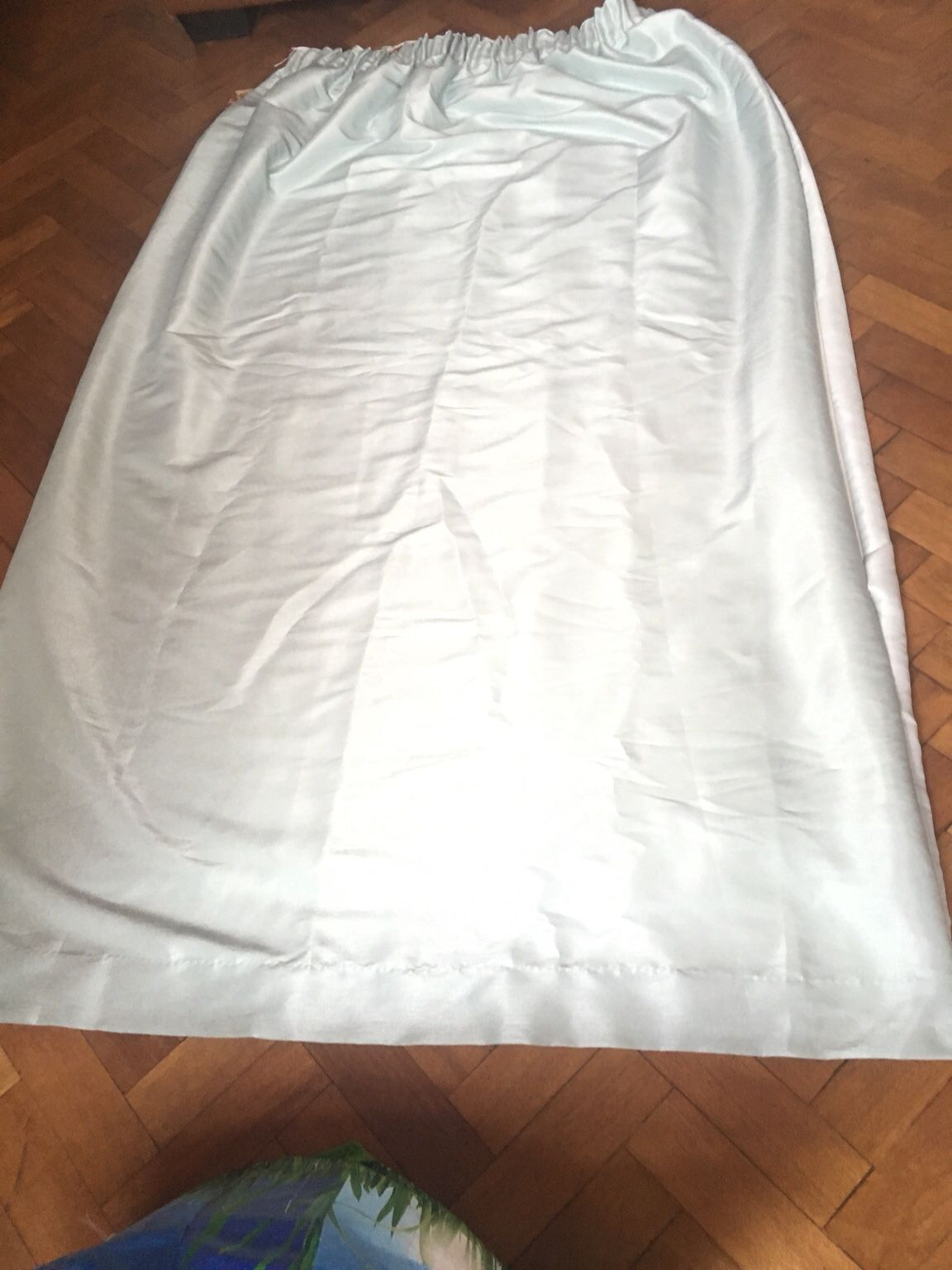 Https://en.shpock/i/w92Sx66_Y3Ftudbk/ 2018 11 03T13:21:42+ Within Bailey Linen Flare Arm Wing Skirted Swivel Gliders (Photo 19 of 20)