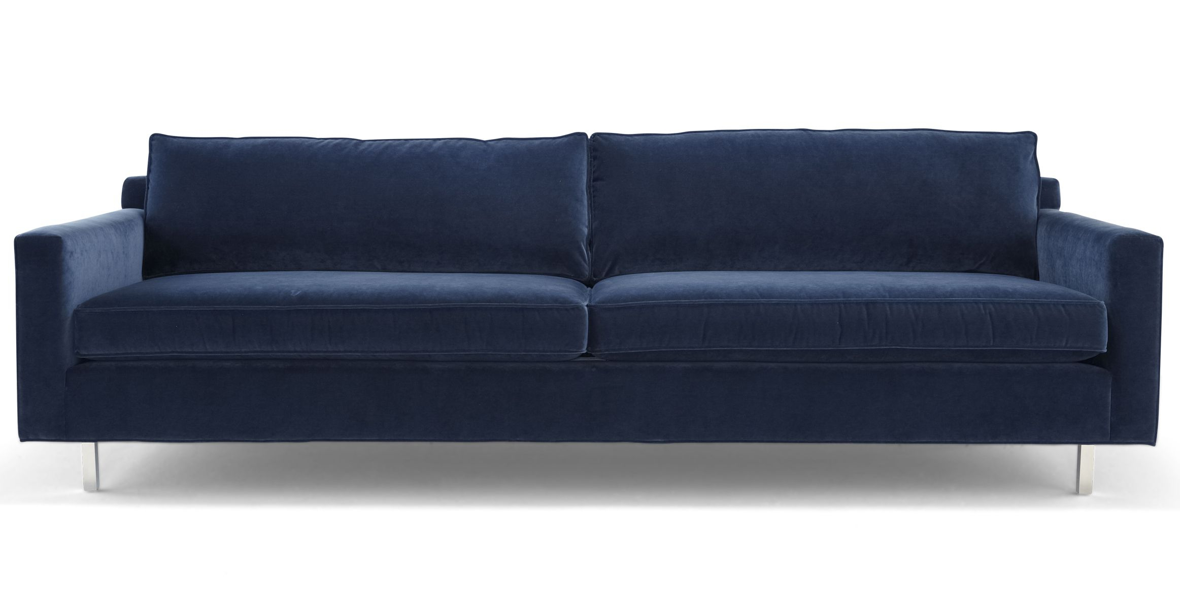 Hunter Wood Leg Sofa – Mitchell Gold + Bob Williams – This Is A More Intended For Mitchell Arm Sofa Chairs (Image 6 of 20)