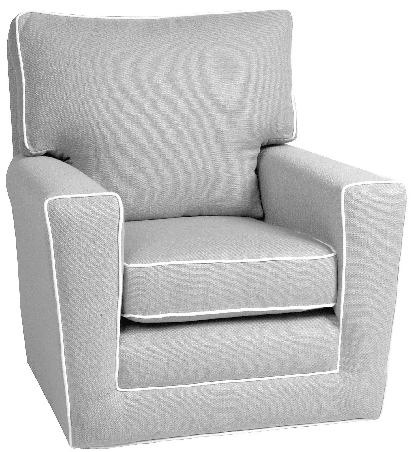 I Will Own A Little Castle Recliner For My Nursery No Way I'd Buy Pertaining To Katrina Grey Swivel Glider Chairs (Image 8 of 20)