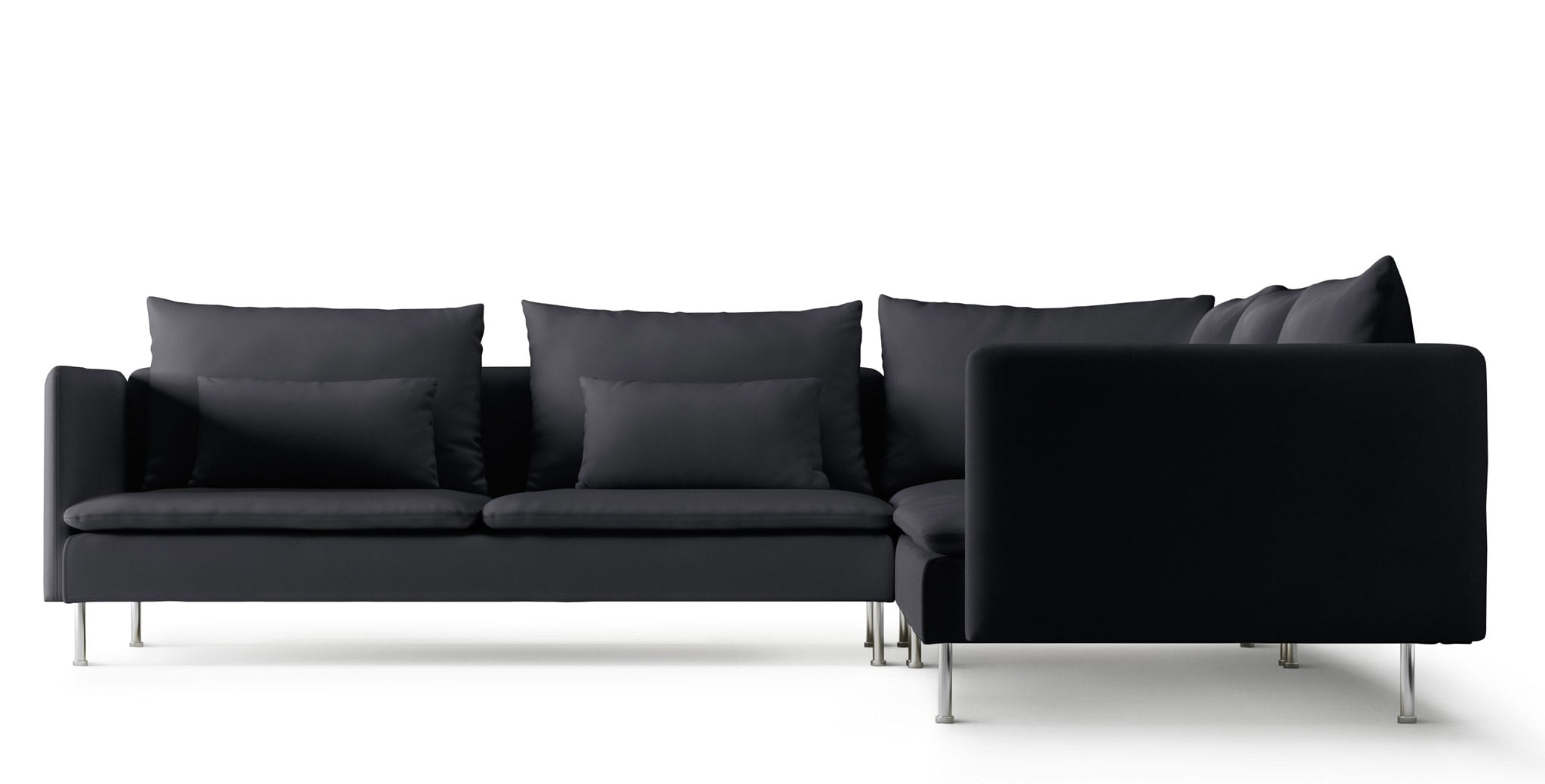 Ikea Fabric Corner Sofas | Ireland – Dublin Throughout Lucy Dark Grey Sofa Chairs (View 3 of 20)