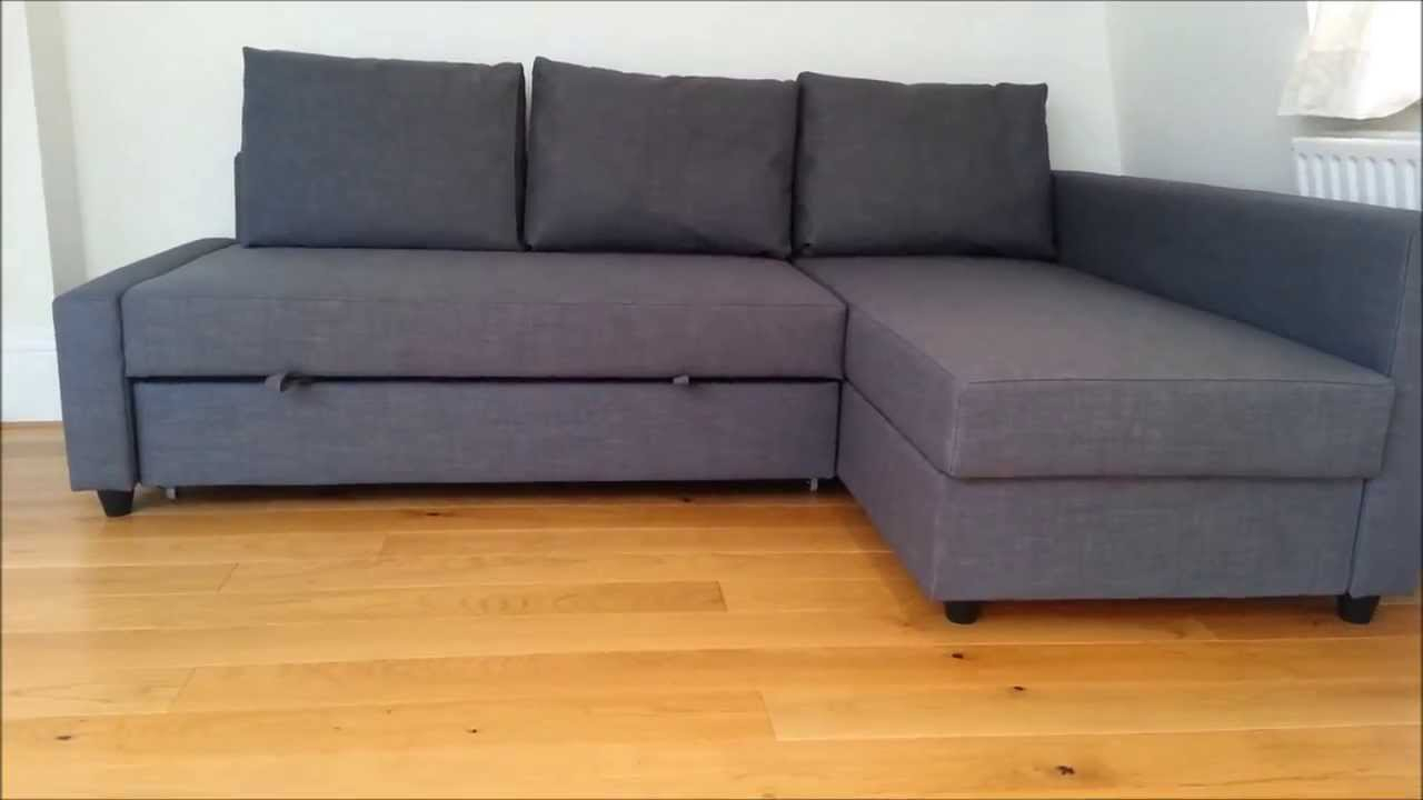 Ikea Sofa Bed – Youtube Intended For Kiara Sofa Chairs (Image 2 of 20)