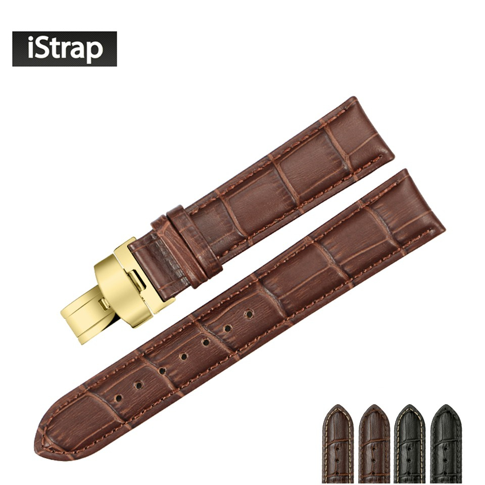 Istrap 14 15 16 18 19Mm 20Mm 21Mm 22Mm 24Mm Genuine Leather With Kawai Leather Swivel Chairs (View 18 of 20)