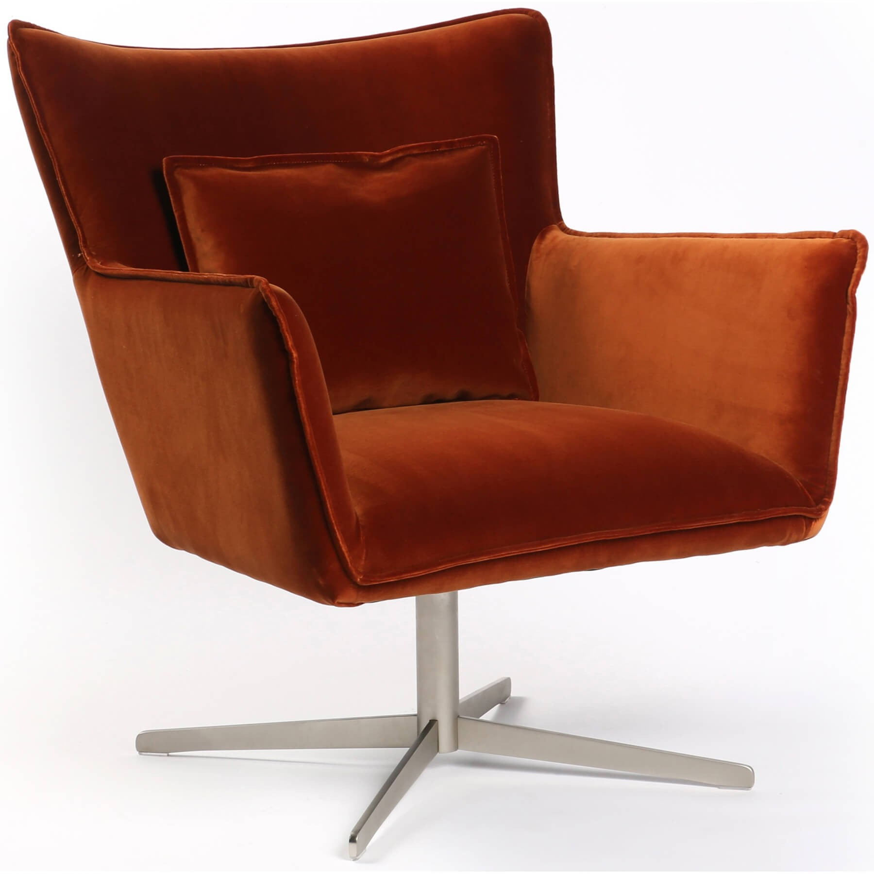 Jacob Swivel Chair, Sienna – Recliners, Swivel, Gliders – Chairs Throughout Swivel Tobacco Leather Chairs (Image 9 of 20)