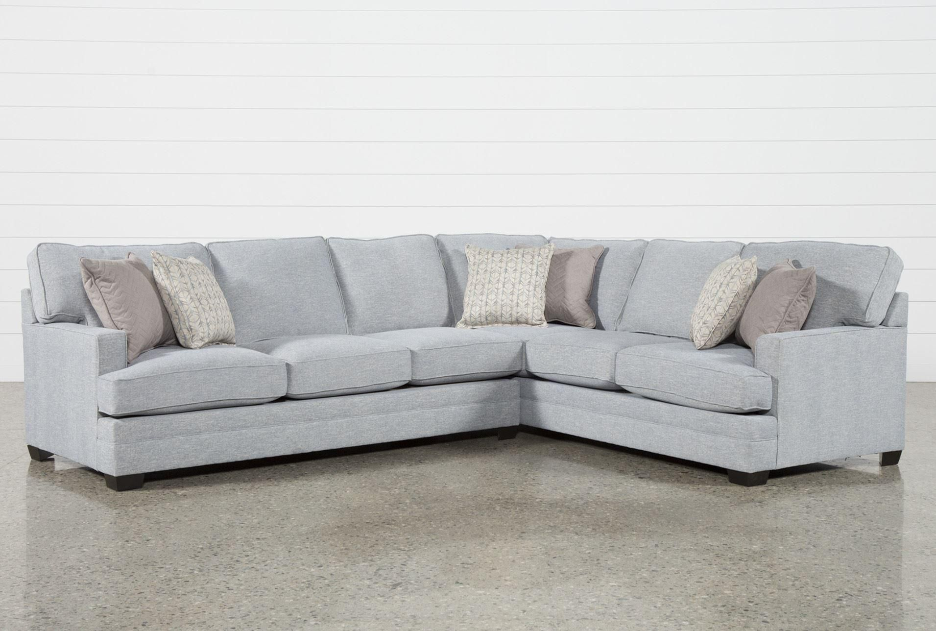 Josephine 2 Piece Sectional W/laf Sofa | For The Home | Sofa, Living Inside Mcdade Graphite Sofa Chairs (Image 9 of 20)
