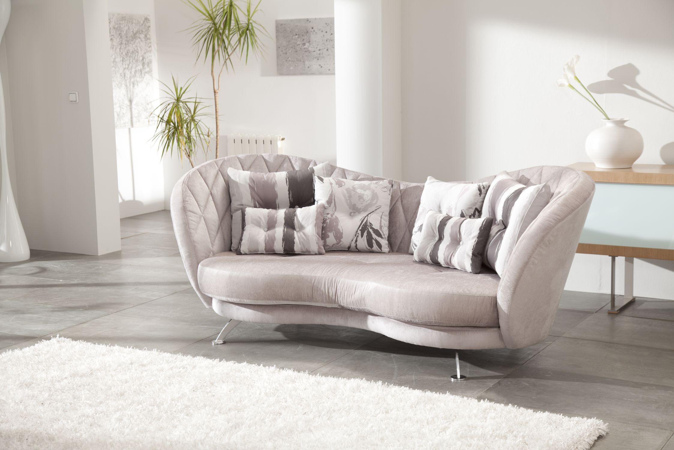 Josephine Contemporary Sofa | Fama Sofas Regarding Josephine Sofa Chairs (View 11 of 20)