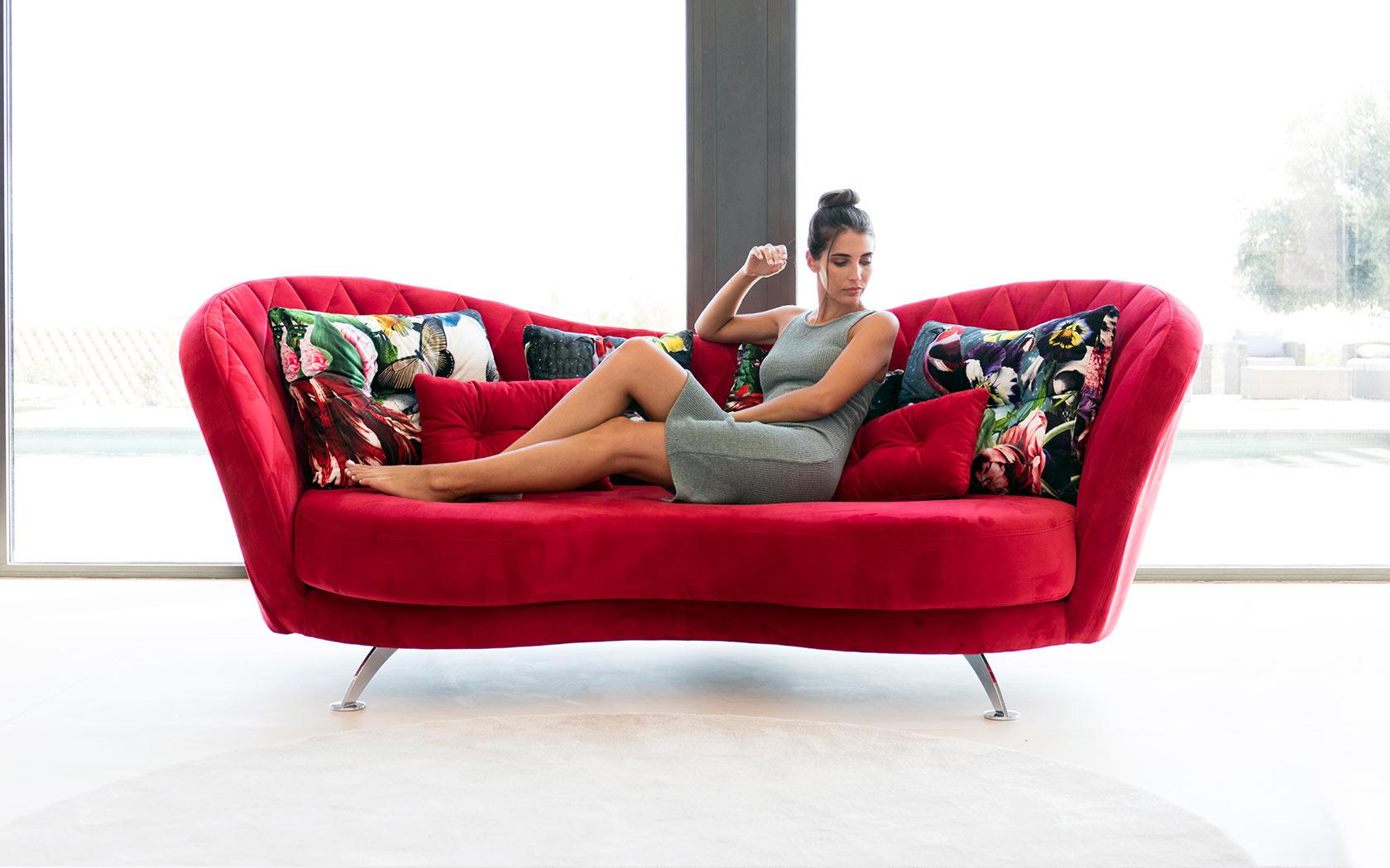 Josephine Sofa – Sofas And Modulars Throughout Josephine Sofa Chairs (Image 7 of 20)