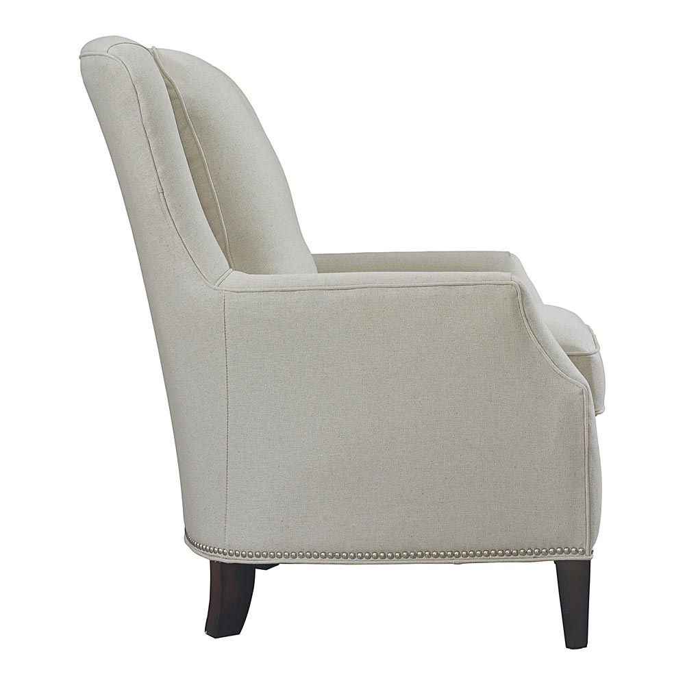 Kent Accent Chair | Bassett Furniture Regarding Umber Grey Swivel Accent Chairs (Image 13 of 20)