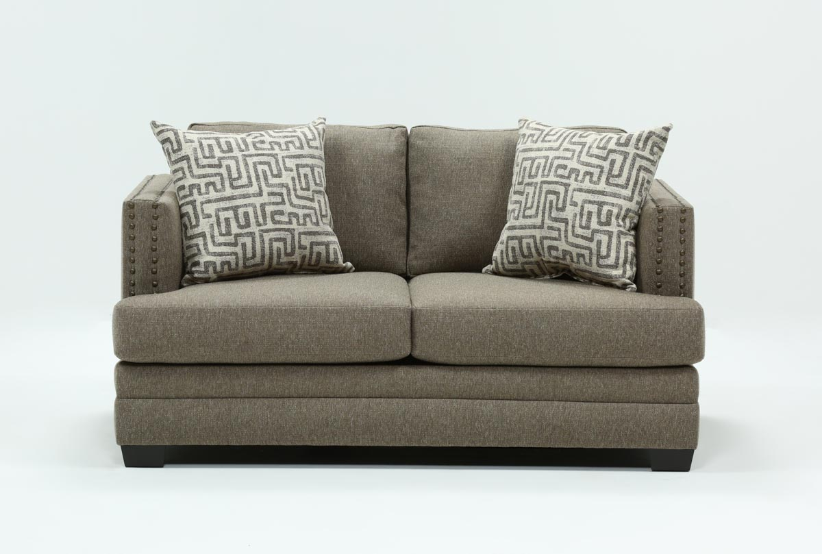 Kiara Loveseat | Living Spaces With Regard To Kiara Sofa Chairs (Image 14 of 20)