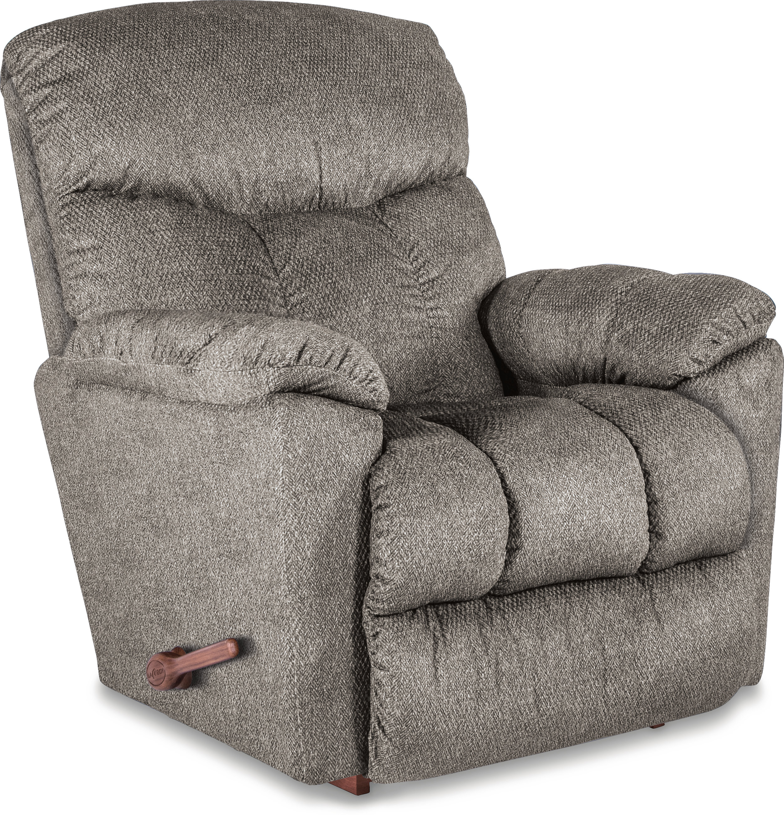 La Z Boy Morrison Manual Rocker Recliner & Reviews | Wayfair Throughout Sheldon Oversized Sofa Chairs (Photo 13 of 20)