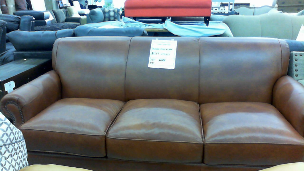 Landry Leather Sofa $699 | Overstock Outlet Super Store Within Landry Sofa Chairs (Photo 18 of 20)