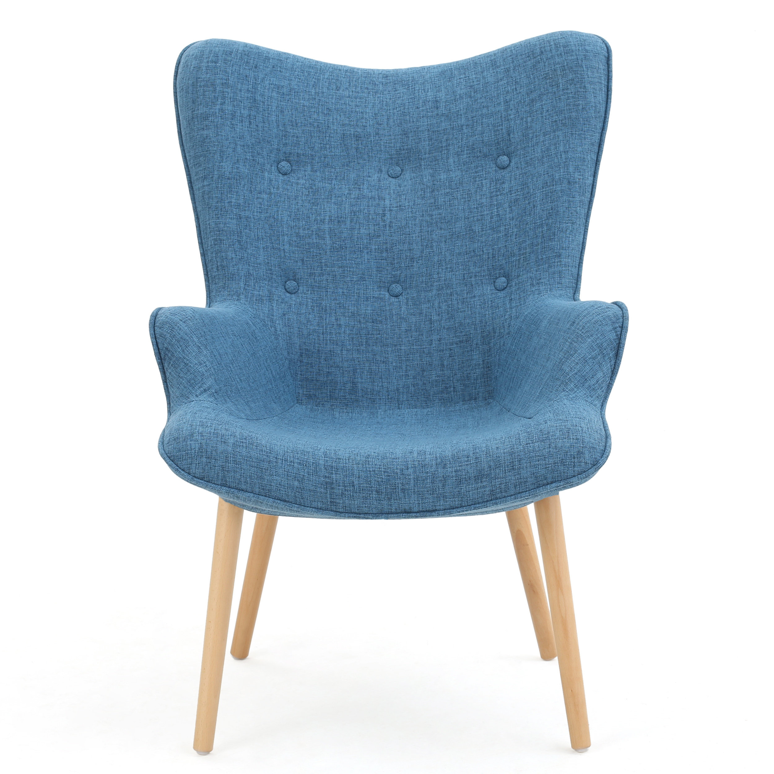 Langley Street Columbus Armchair & Reviews | Wayfair In Katrina Blue Swivel Glider Chairs (Image 11 of 20)